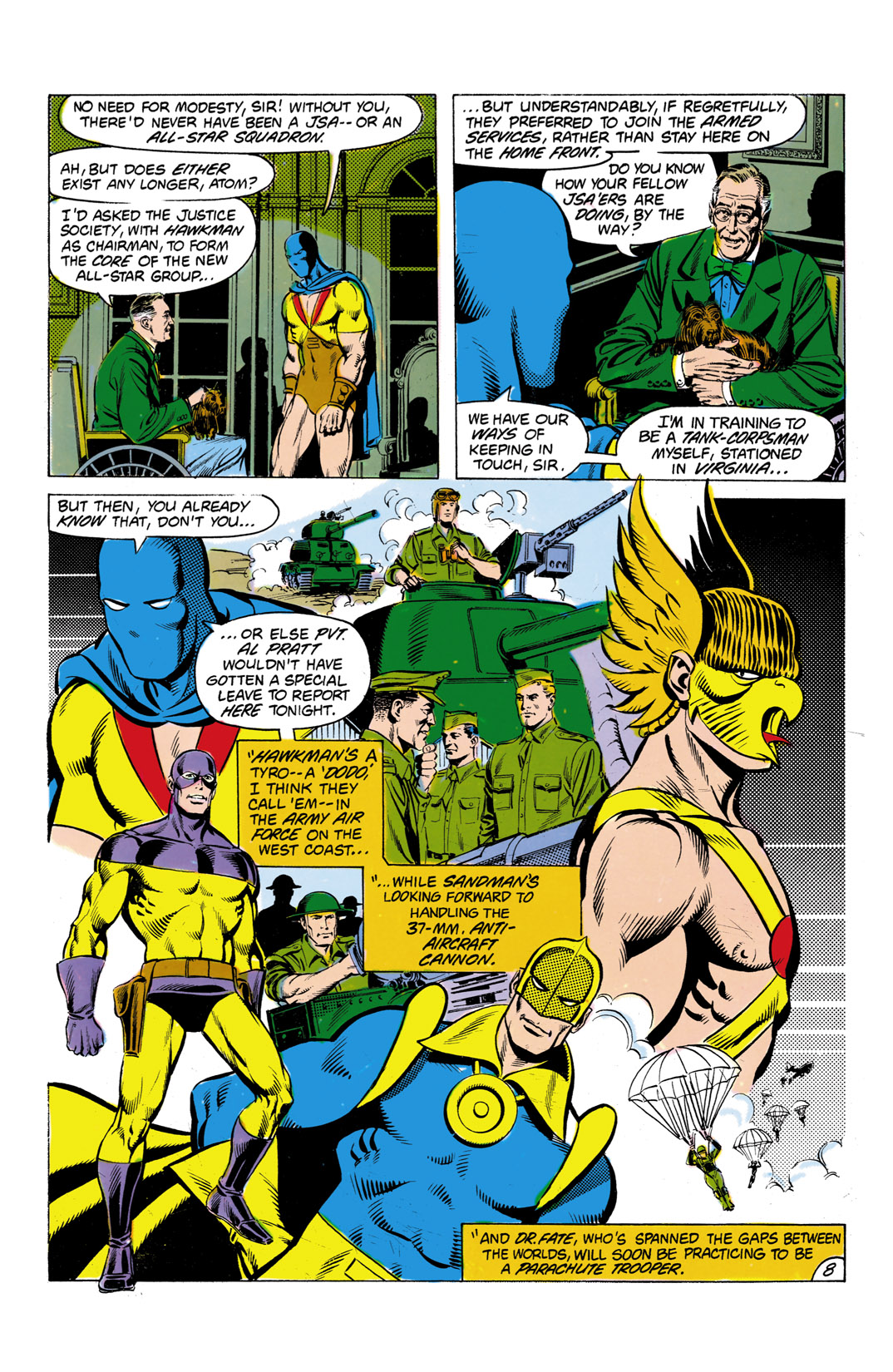 Read online All-Star Squadron comic -  Issue #7 - 9