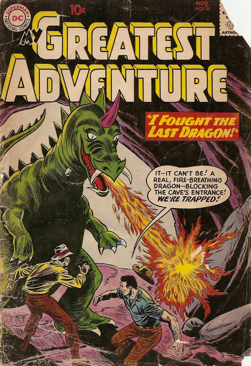 My Greatest Adventure (1955) issue 49 - Page 1