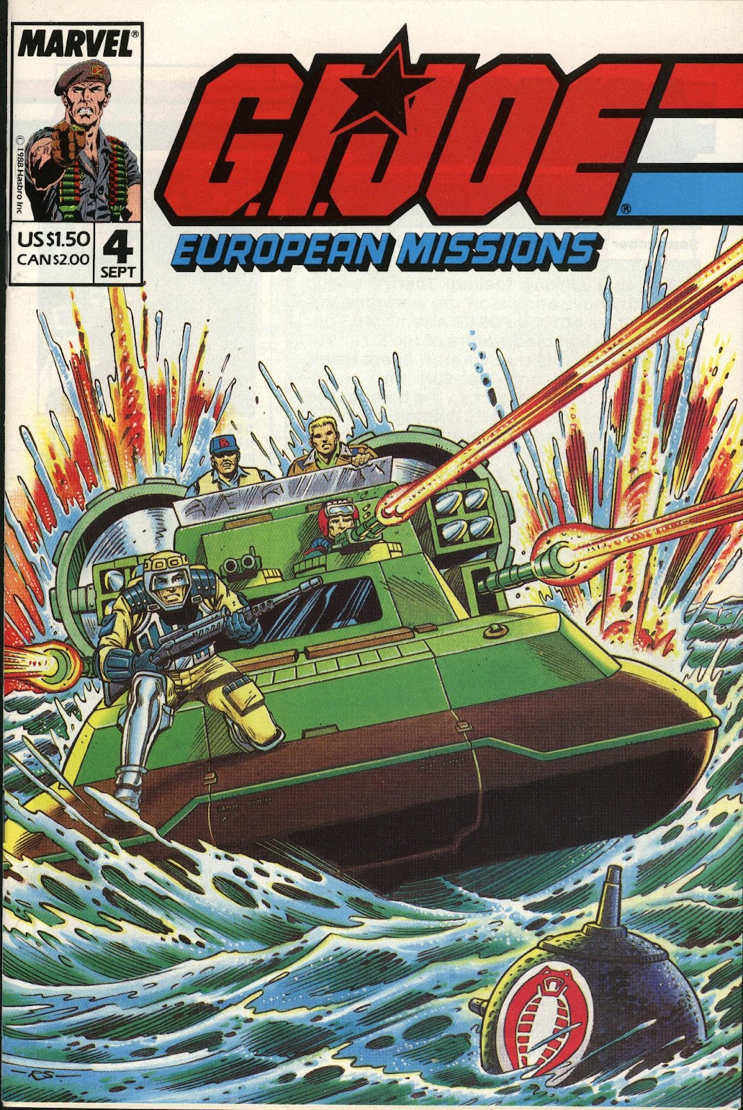 G.I. Joe European Missions issue 4 - Page 1
