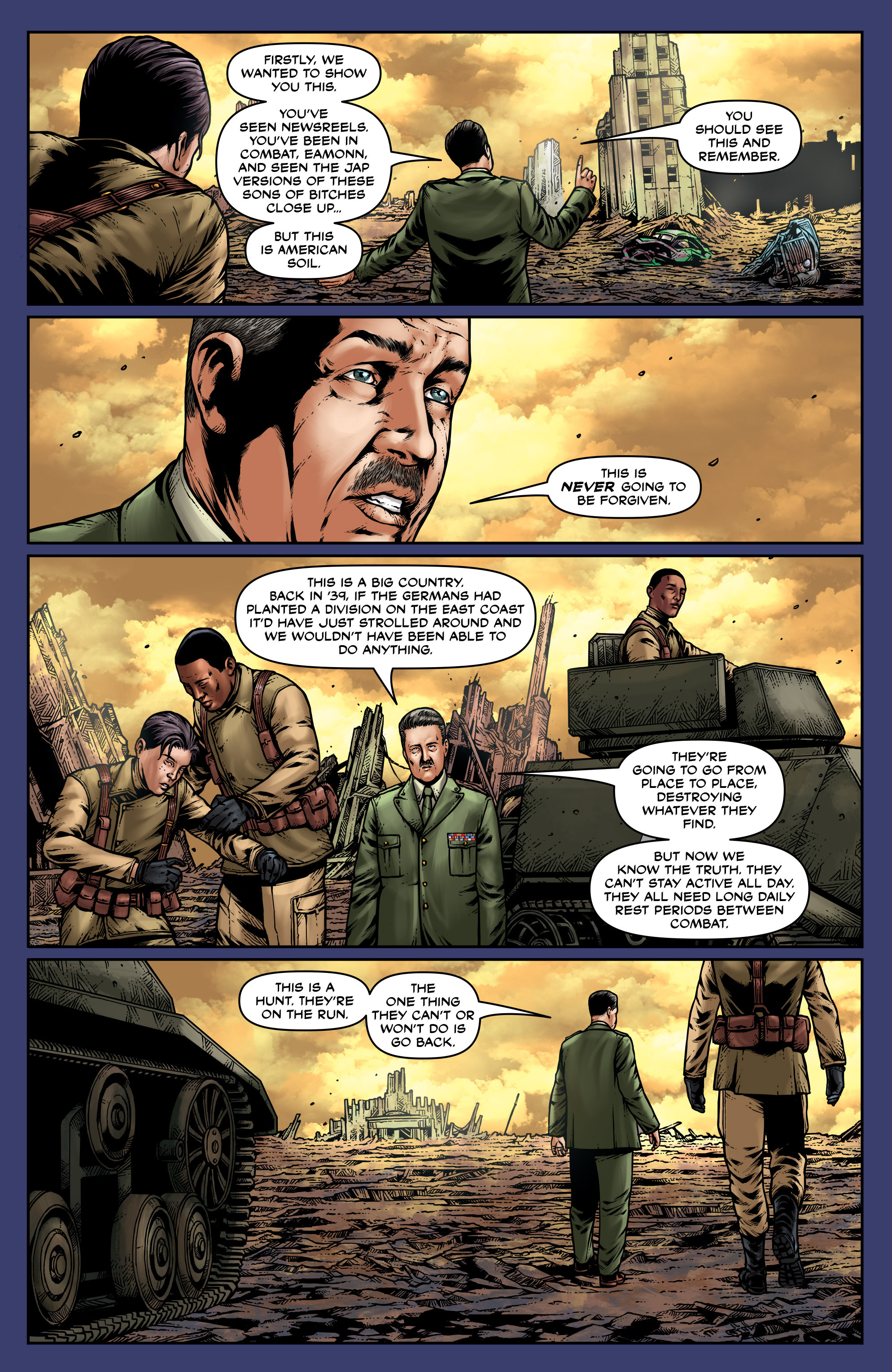 Read online Uber: Invasion comic -  Issue #2 - 22