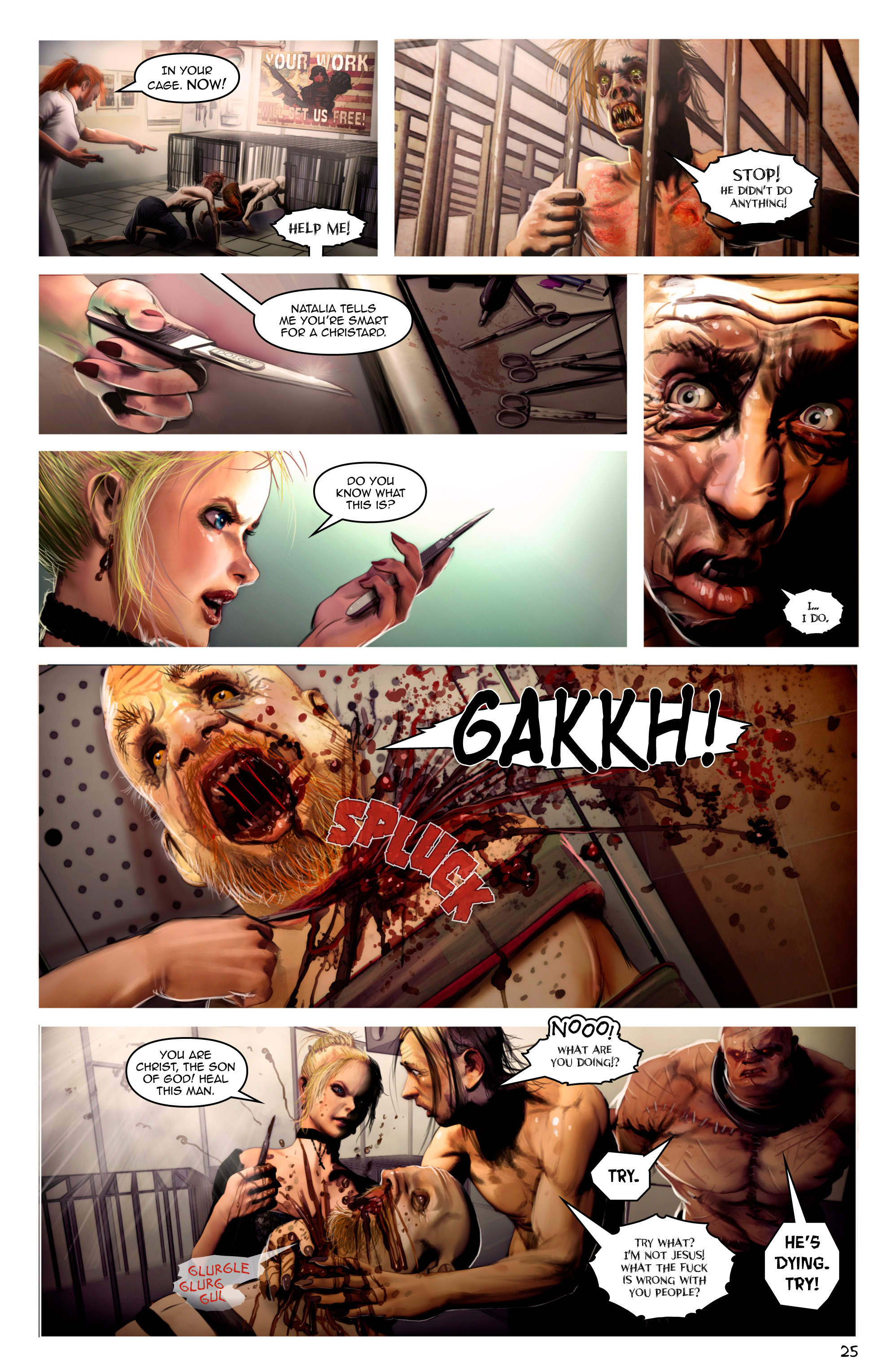Read online Escape from Jesus Island comic -  Issue #2 - 25