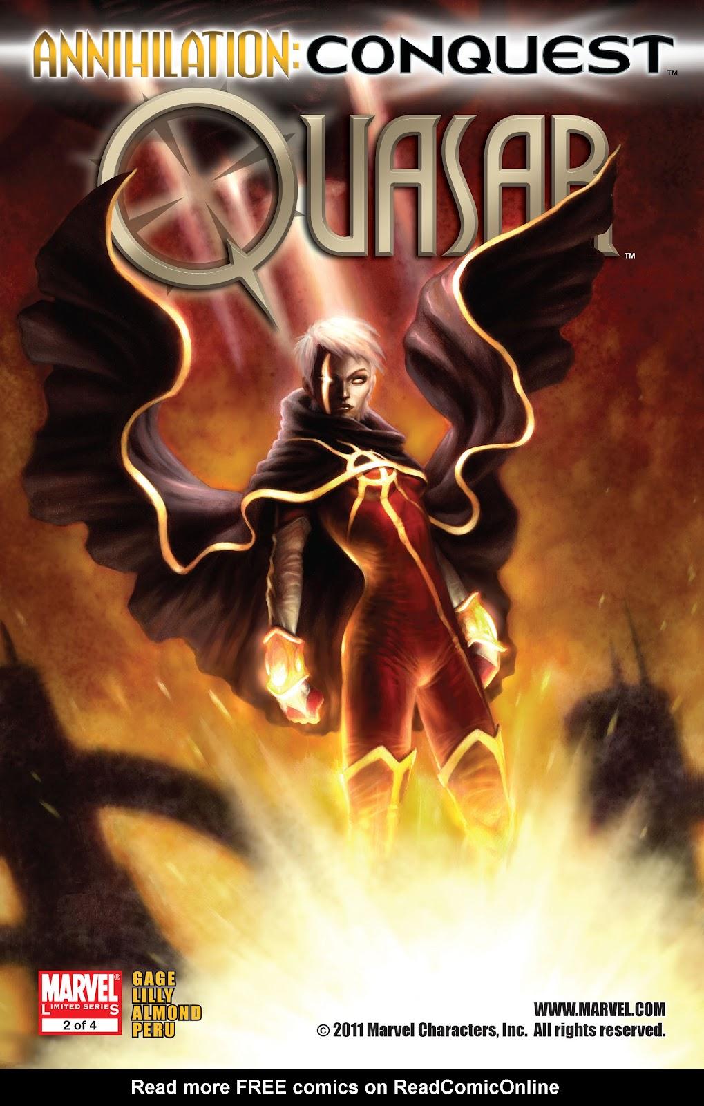 Annihilation: Conquest - Quasar issue 2 - Page 1