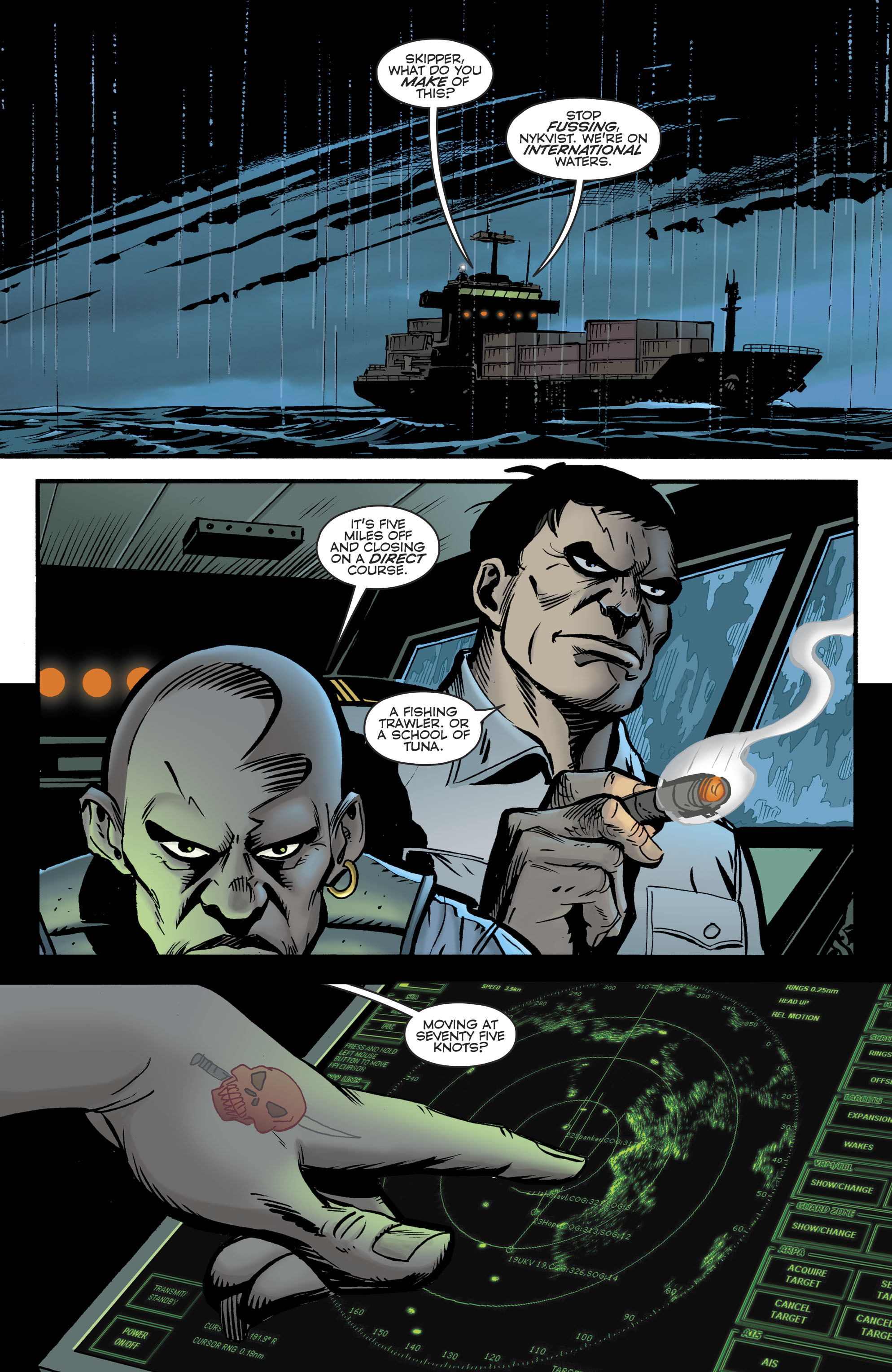 Read online Bane: Conquest comic -  Issue #1 - 4
