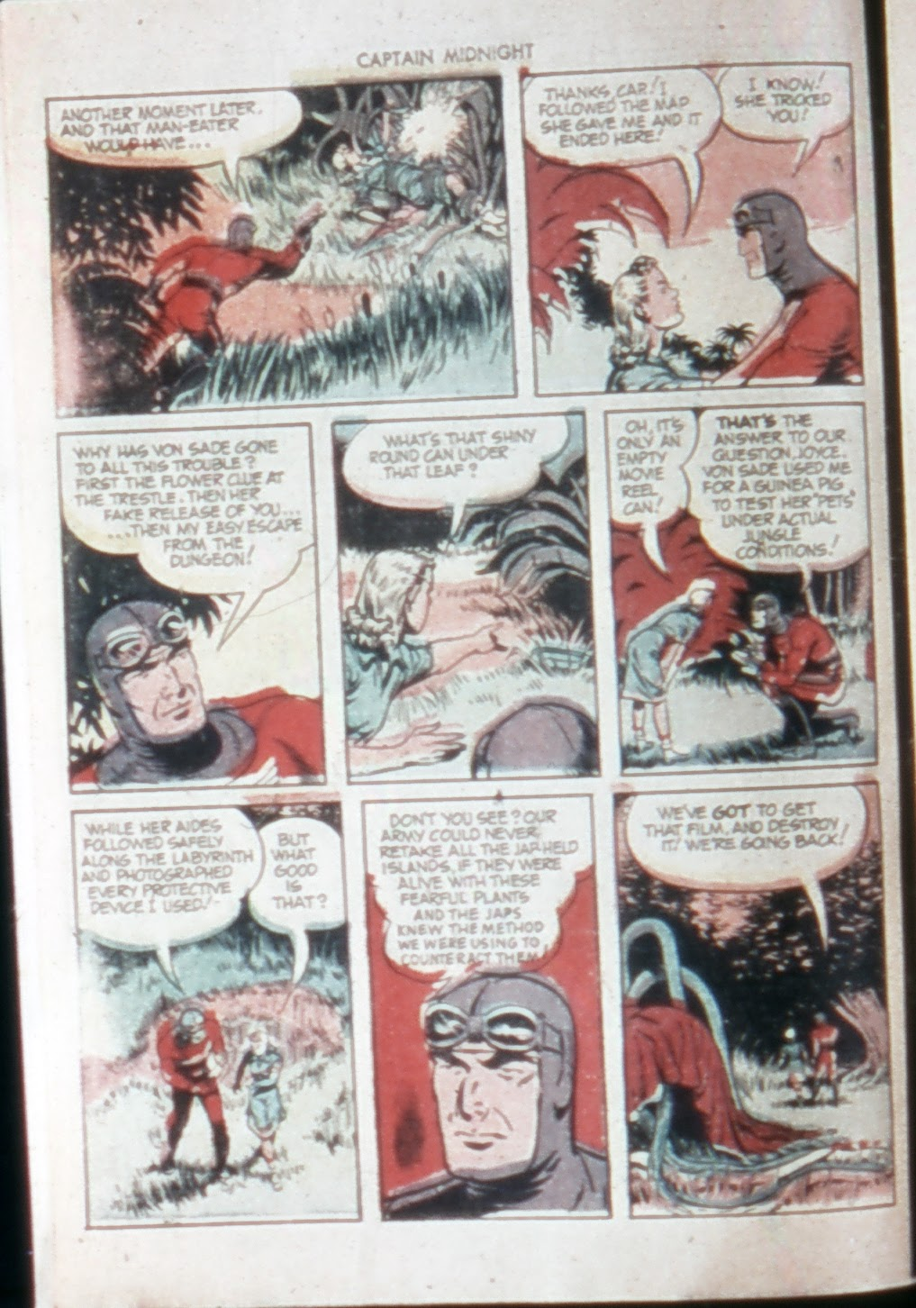 Captain Midnight (1942) issue 21 - Page 10