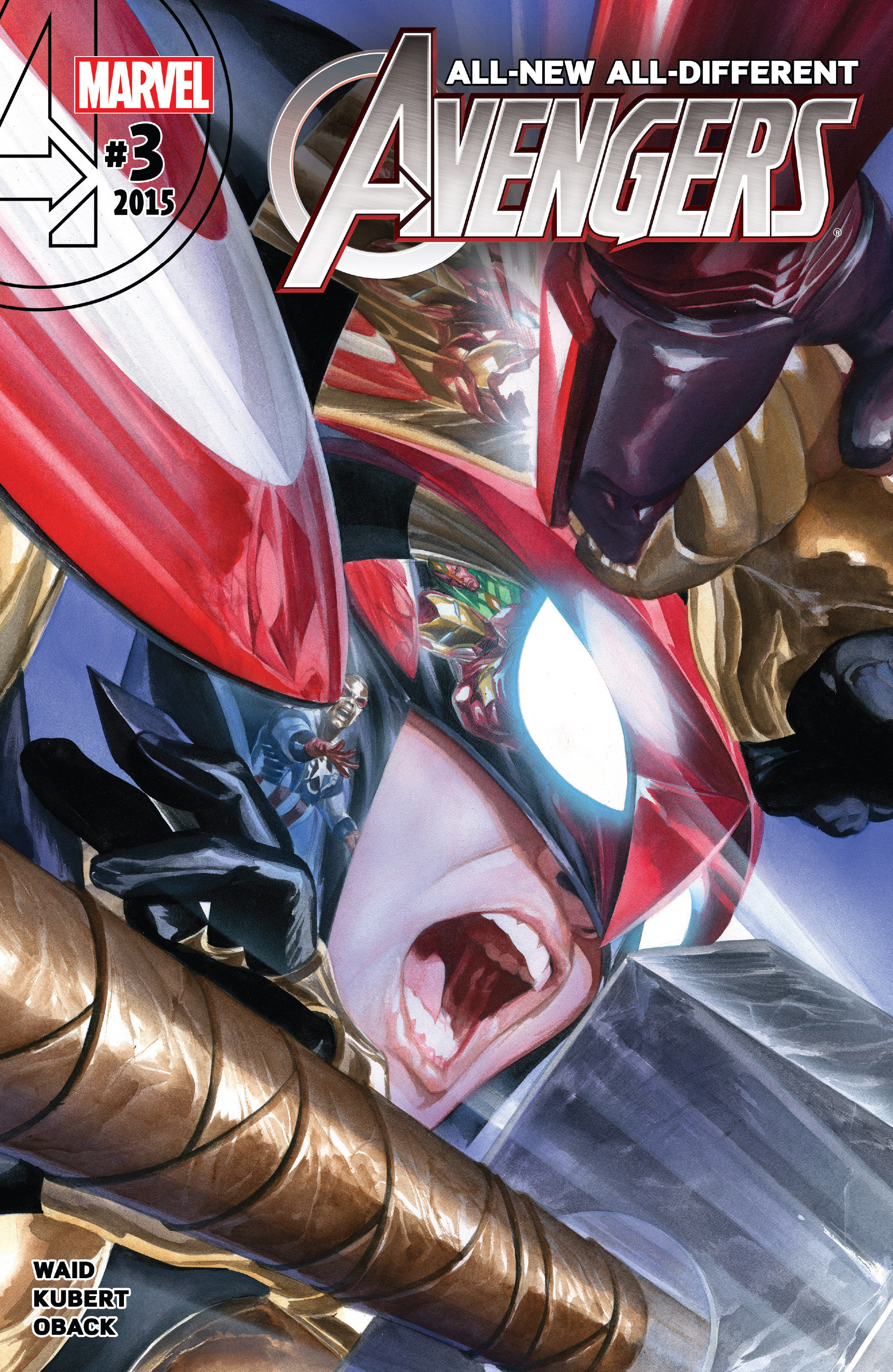 Read online All-New, All-Different Avengers comic -  Issue #3 - 1