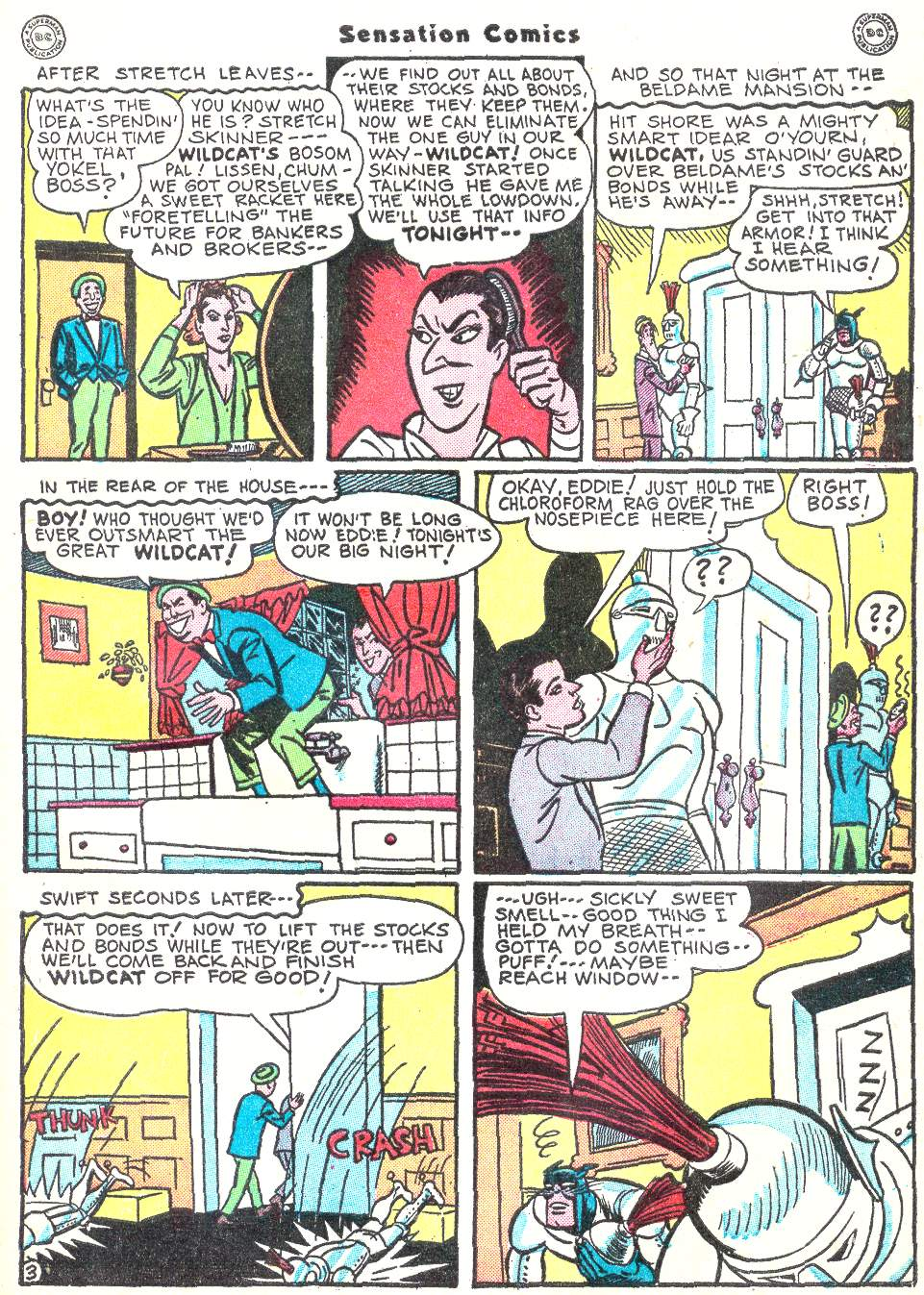 Read online Sensation (Mystery) Comics comic -  Issue #50 - 43