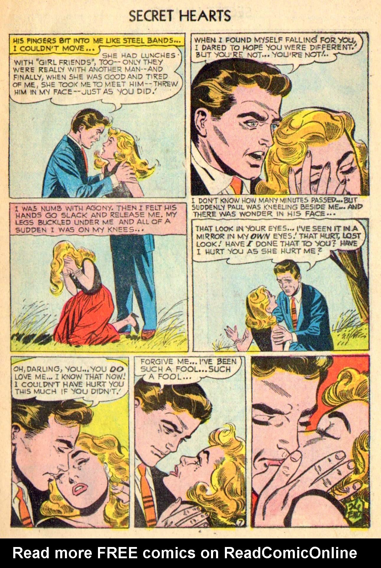 Read online Secret Hearts comic -  Issue #31 - 23