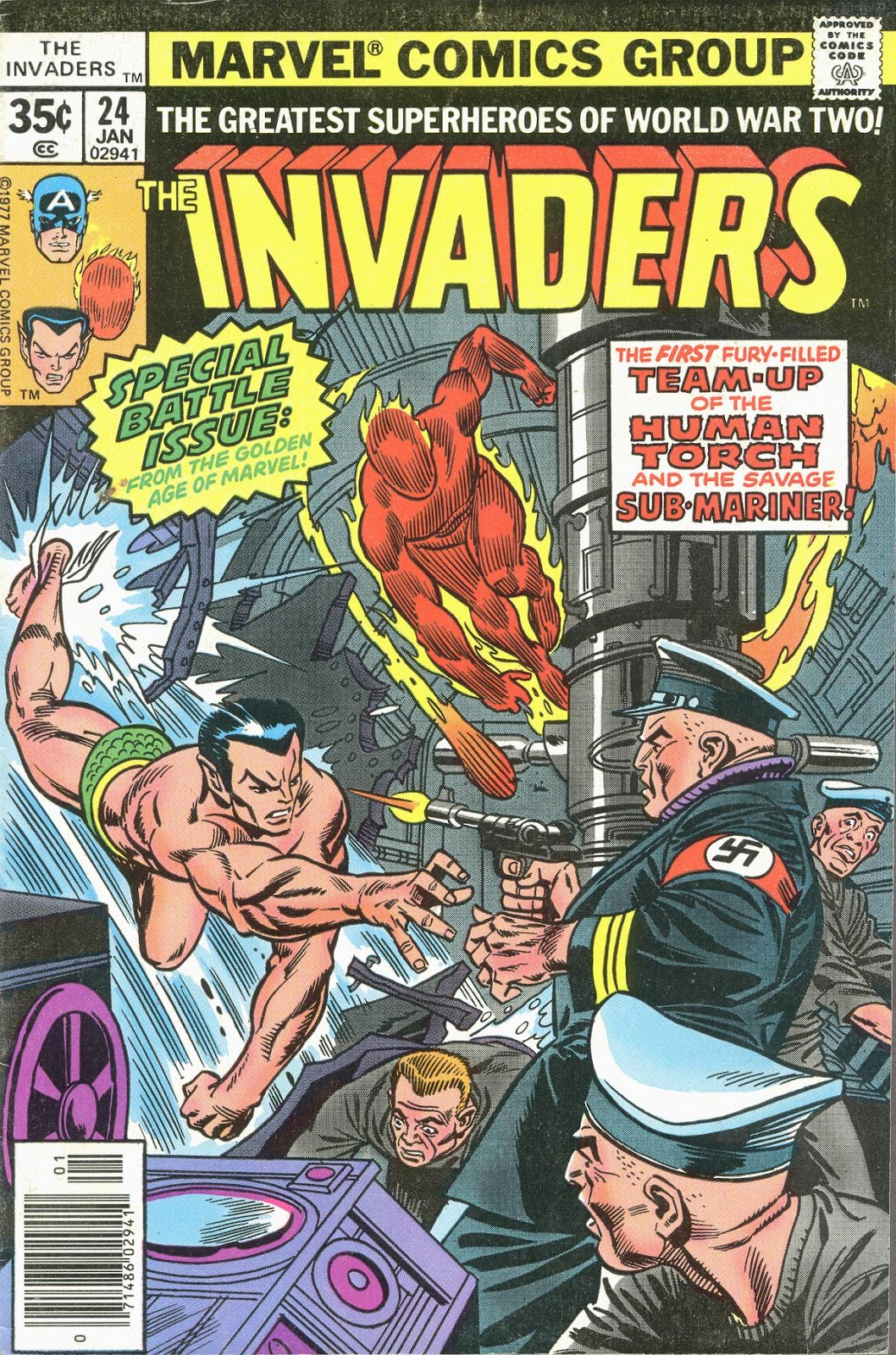 The Invaders (1975) issue 24 - Page 1