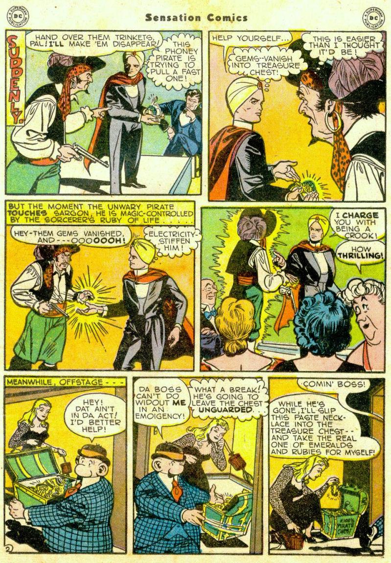 Read online Sensation (Mystery) Comics comic -  Issue #65 - 24