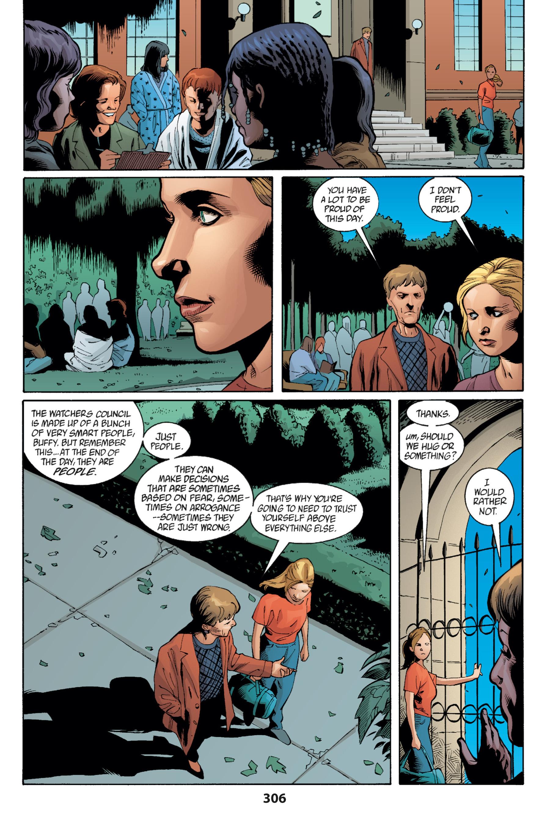 Read online Buffy the Vampire Slayer: Omnibus comic -  Issue # TPB 1 - 294