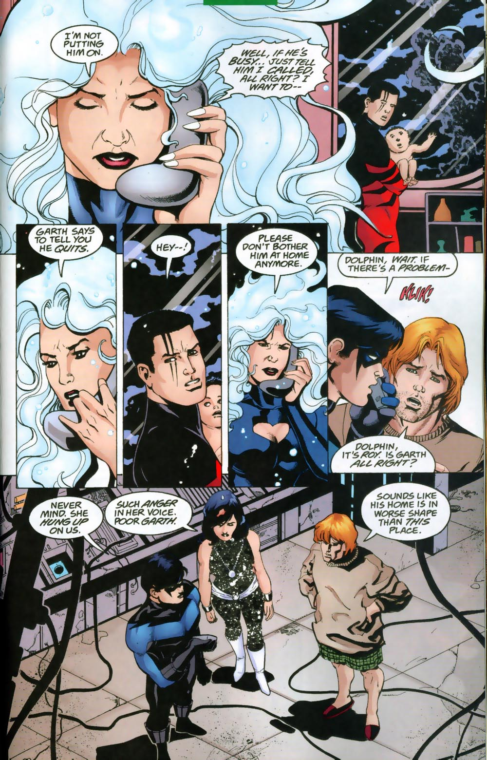 Read online The Titans (1999) comic -  Issue #47 - 18