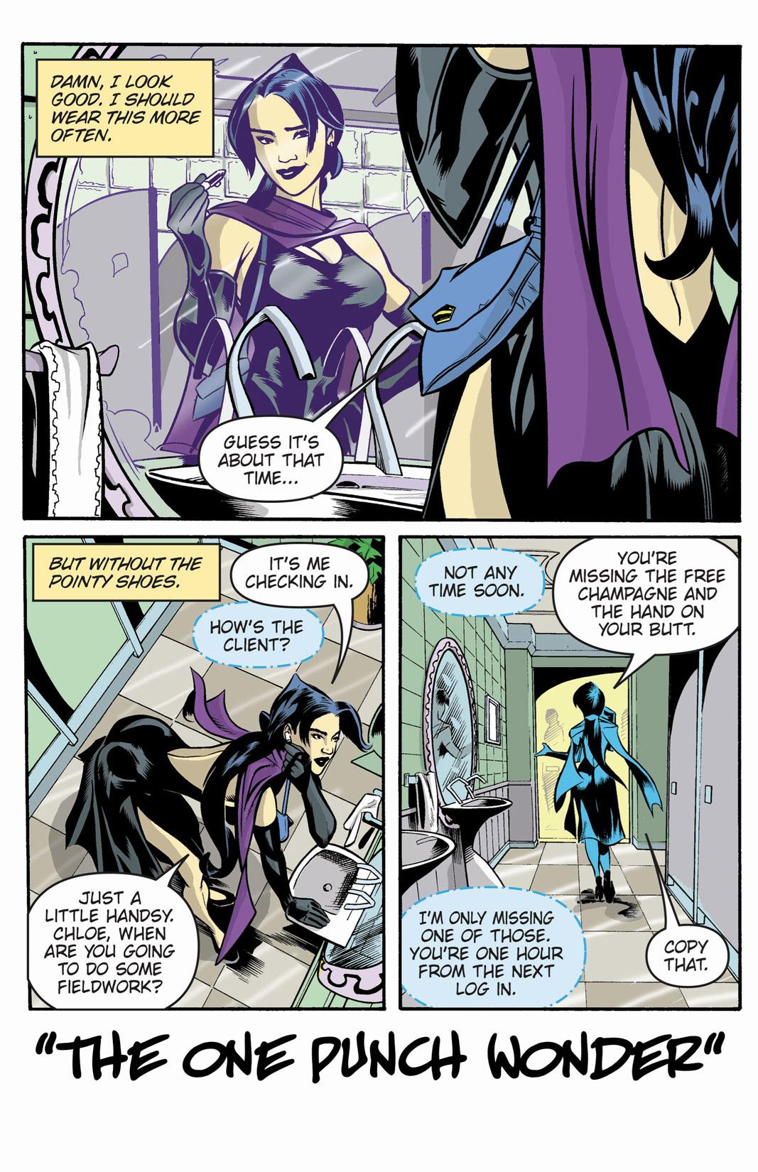 Read online SideChicks comic -  Issue #1 - 3