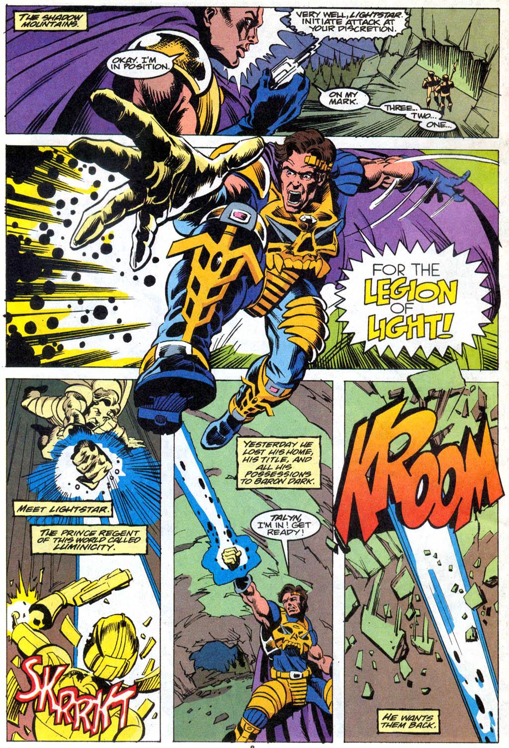 Skeleton Warriors Issue #1 #1 - English 7