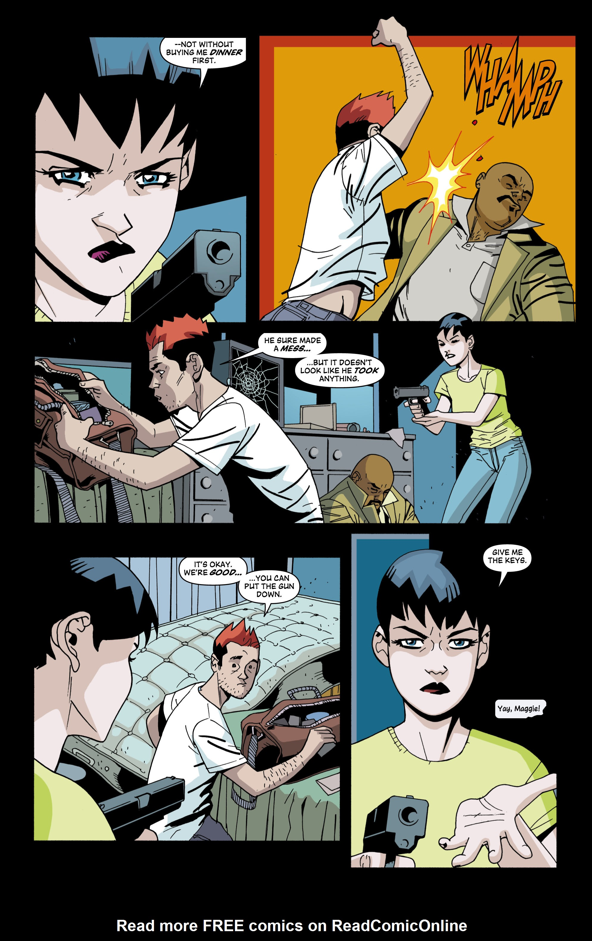 Read online Red Herring comic -  Issue #4 - 4