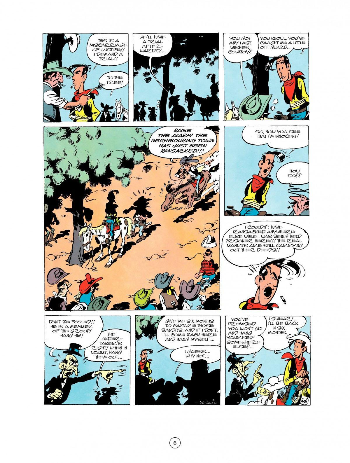 Read online A Lucky Luke Adventure comic -  Issue #27 - 7