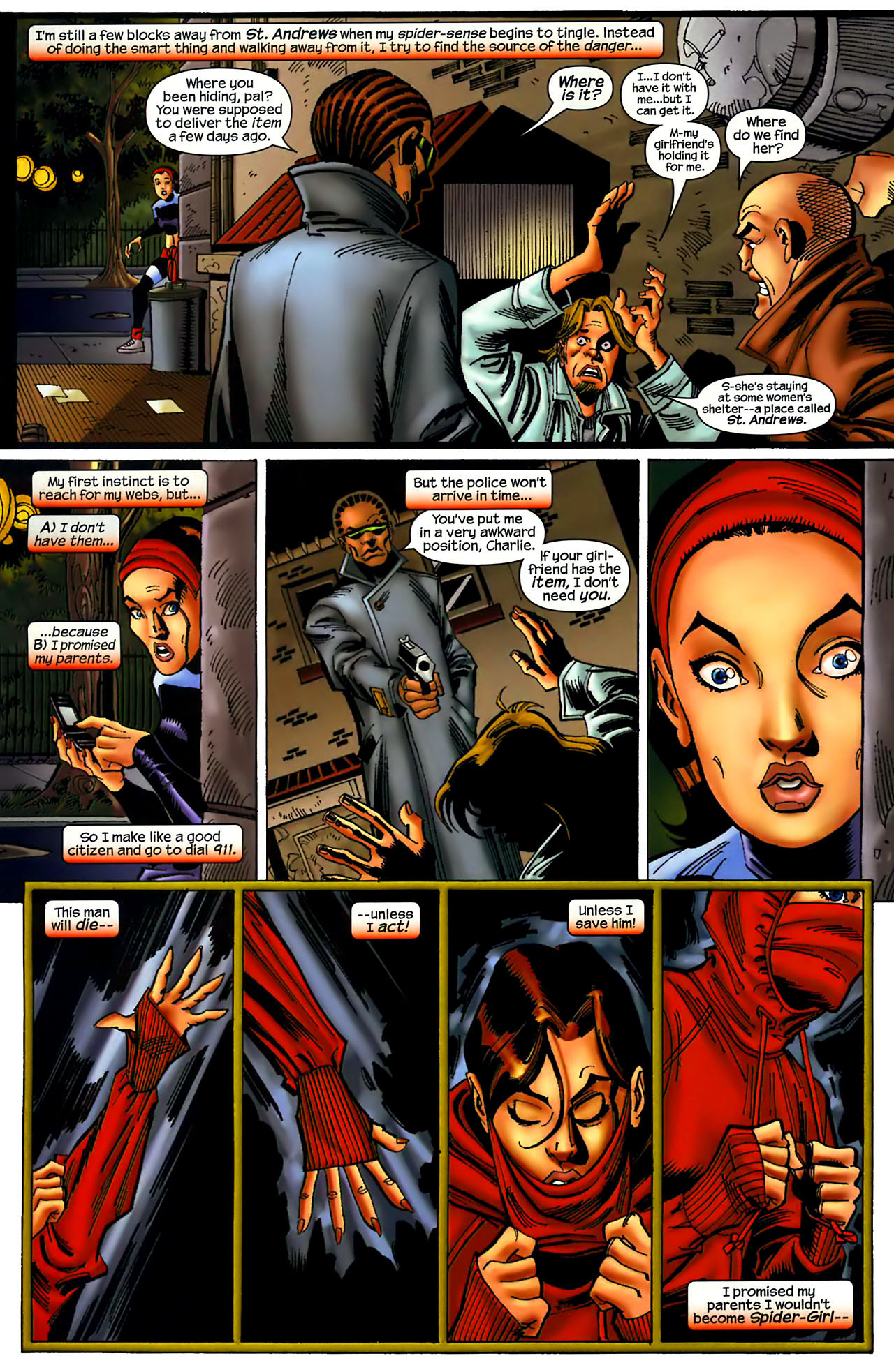 Read online Amazing Spider-Girl comic -  Issue #1 - 15