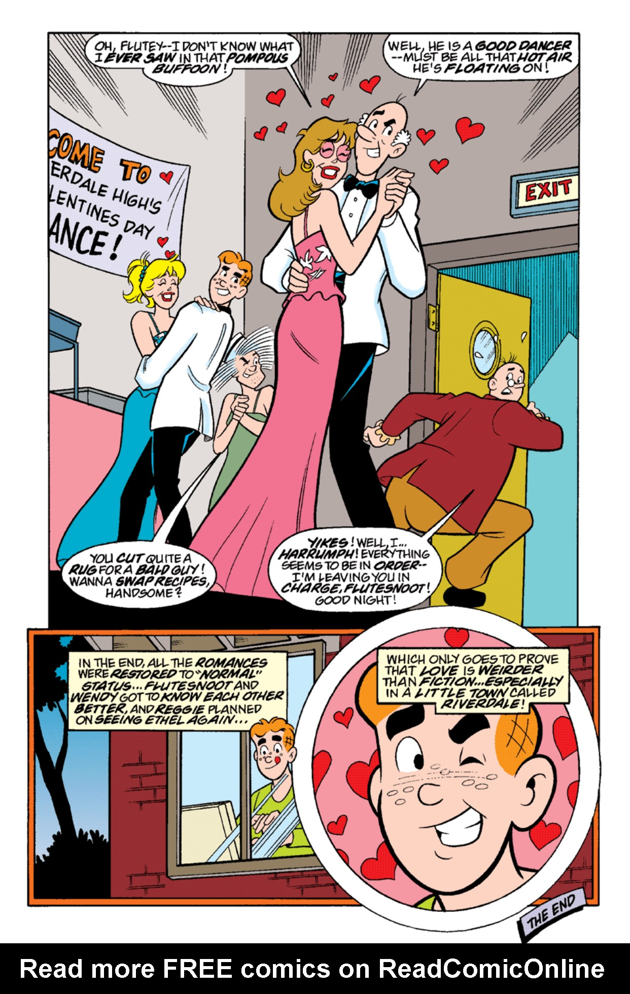 Read online Archie's Weird Mysteries comic -  Issue #19 - 18