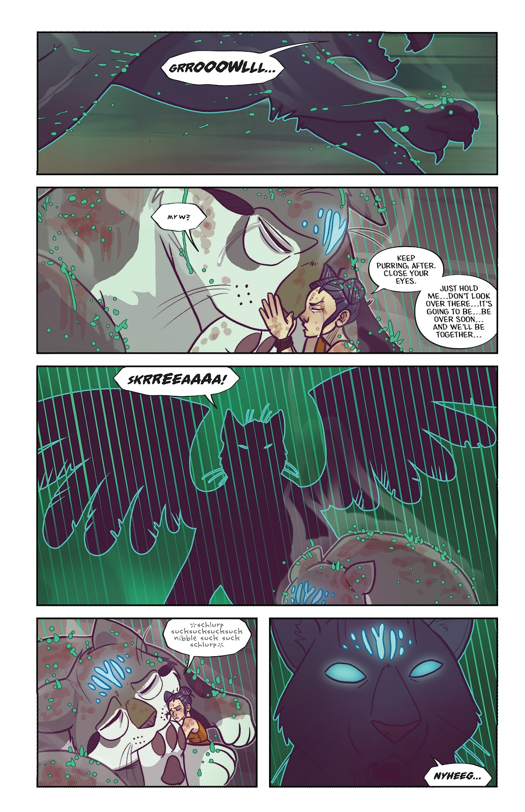 Read online Afterglow comic -  Issue #3 - 17