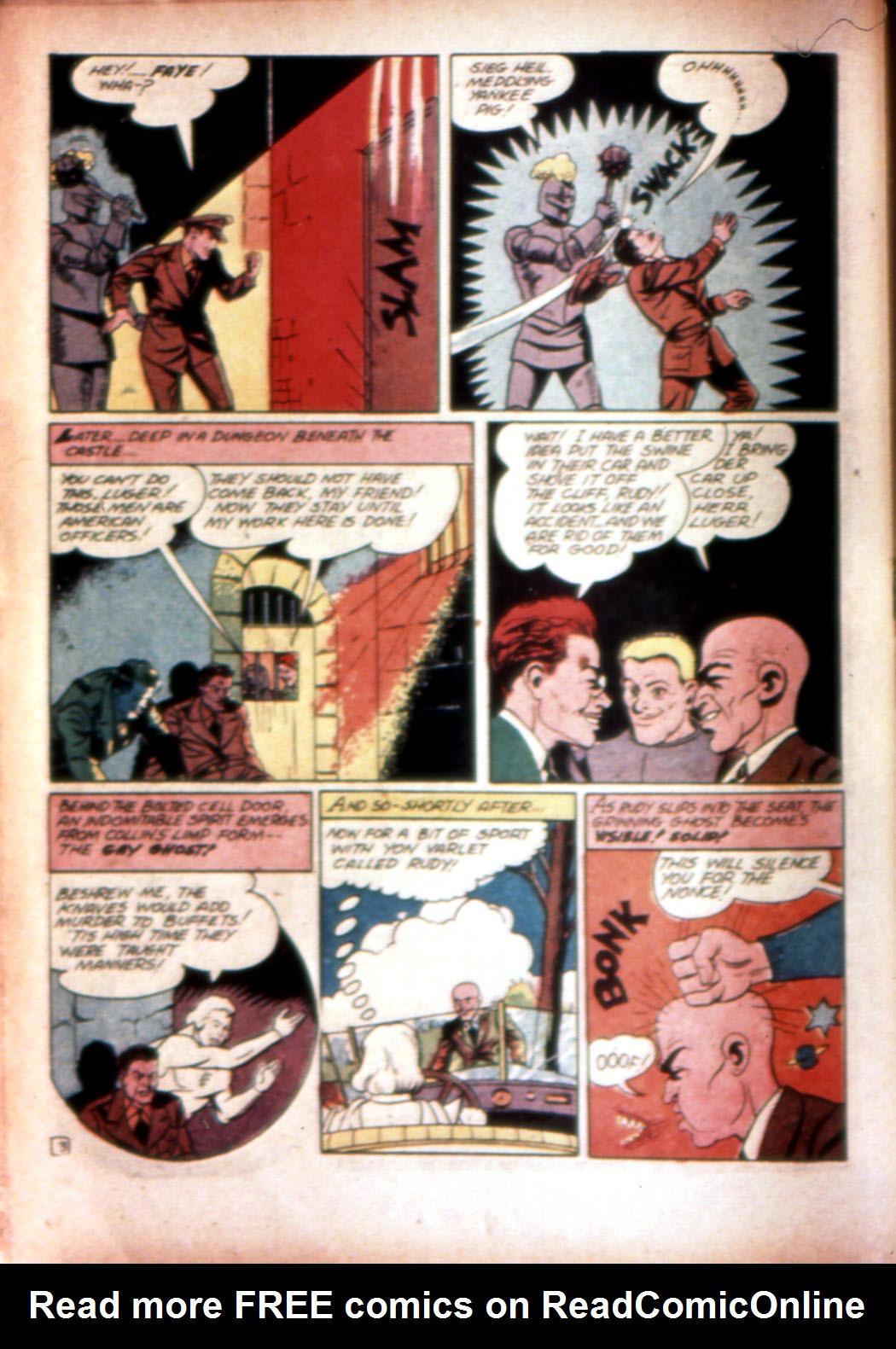 Read online Sensation (Mystery) Comics comic -  Issue #20 - 34
