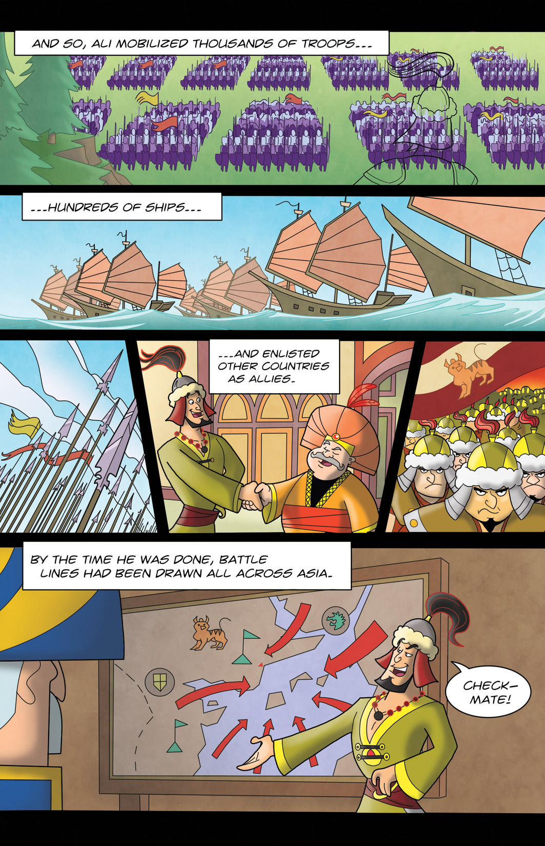 Read online 1001 Nights comic -  Issue #7 - 11