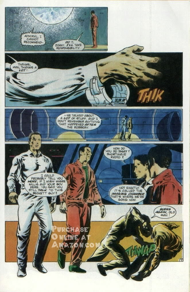 Read online Quantum Leap comic -  Issue #8 - 8