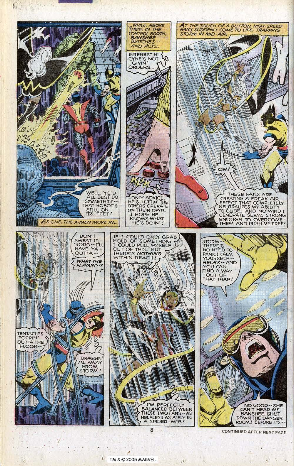 Read online Uncanny X-Men (1963) comic -  Issue # _Annual 3 - 10