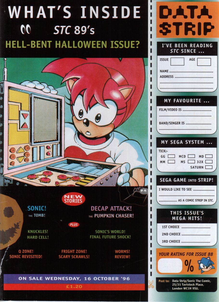 Read online Sonic the Comic comic -  Issue #88 - 33