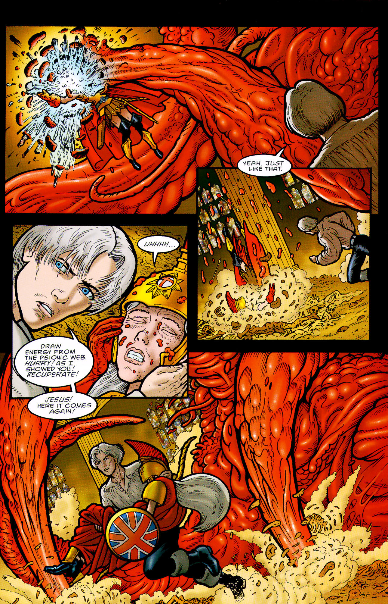 Read online Heart of Empire comic -  Issue #9 - 9