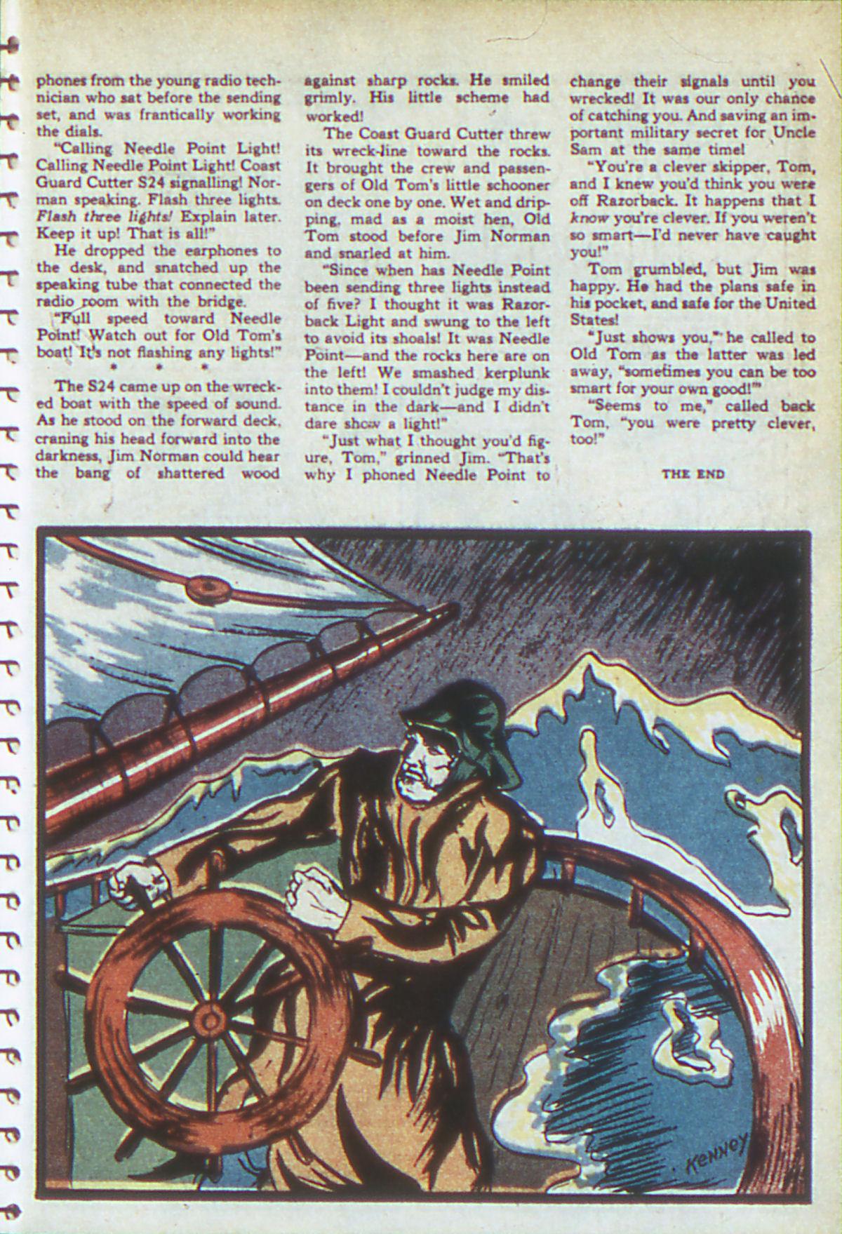 Read online Adventure Comics (1938) comic -  Issue #54 - 40