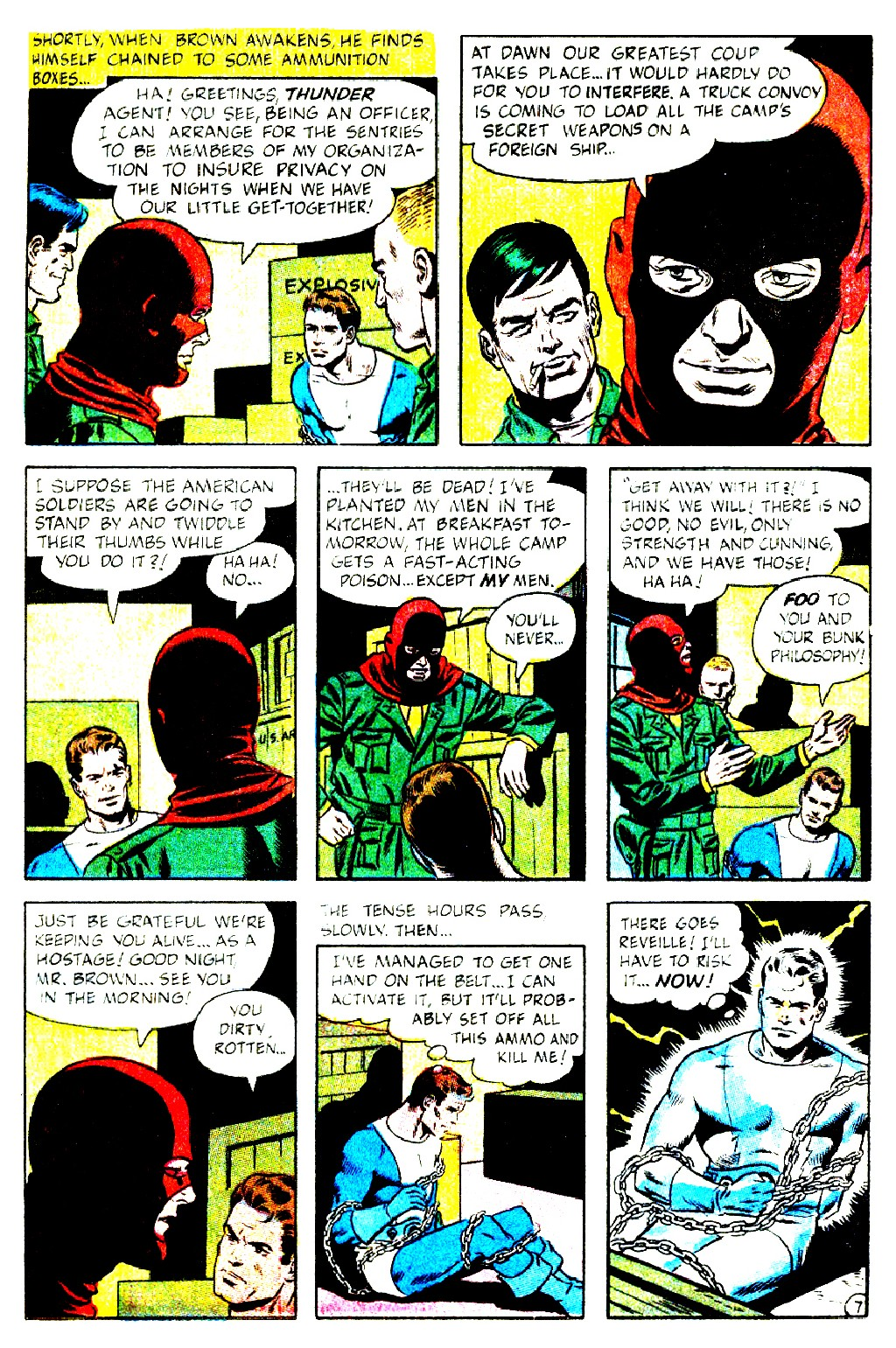 T.H.U.N.D.E.R. Agents (1965) issue 9 - Page 9