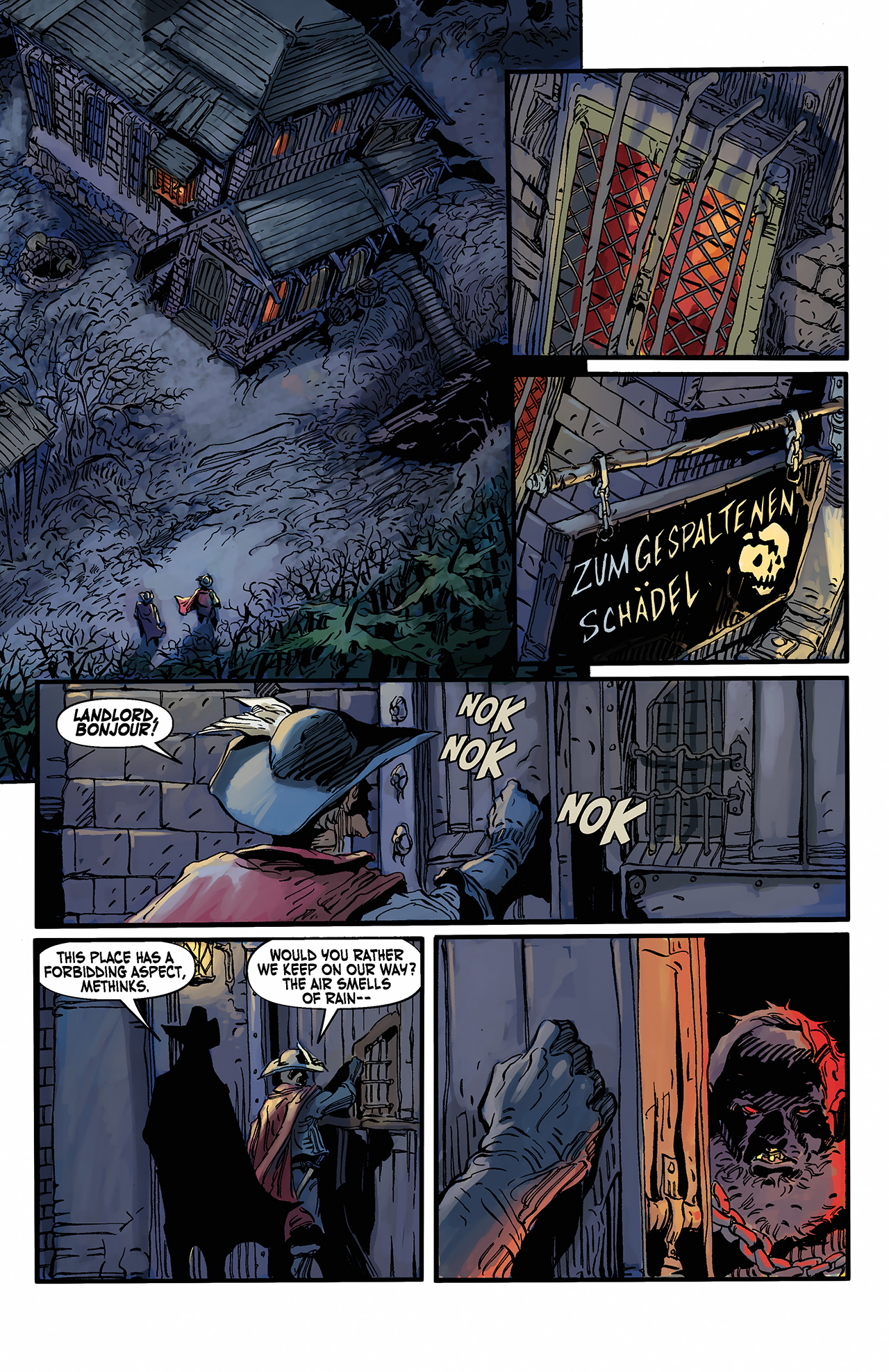 Read online Solomon Kane: Death's Black Riders comic -  Issue #2 - 6