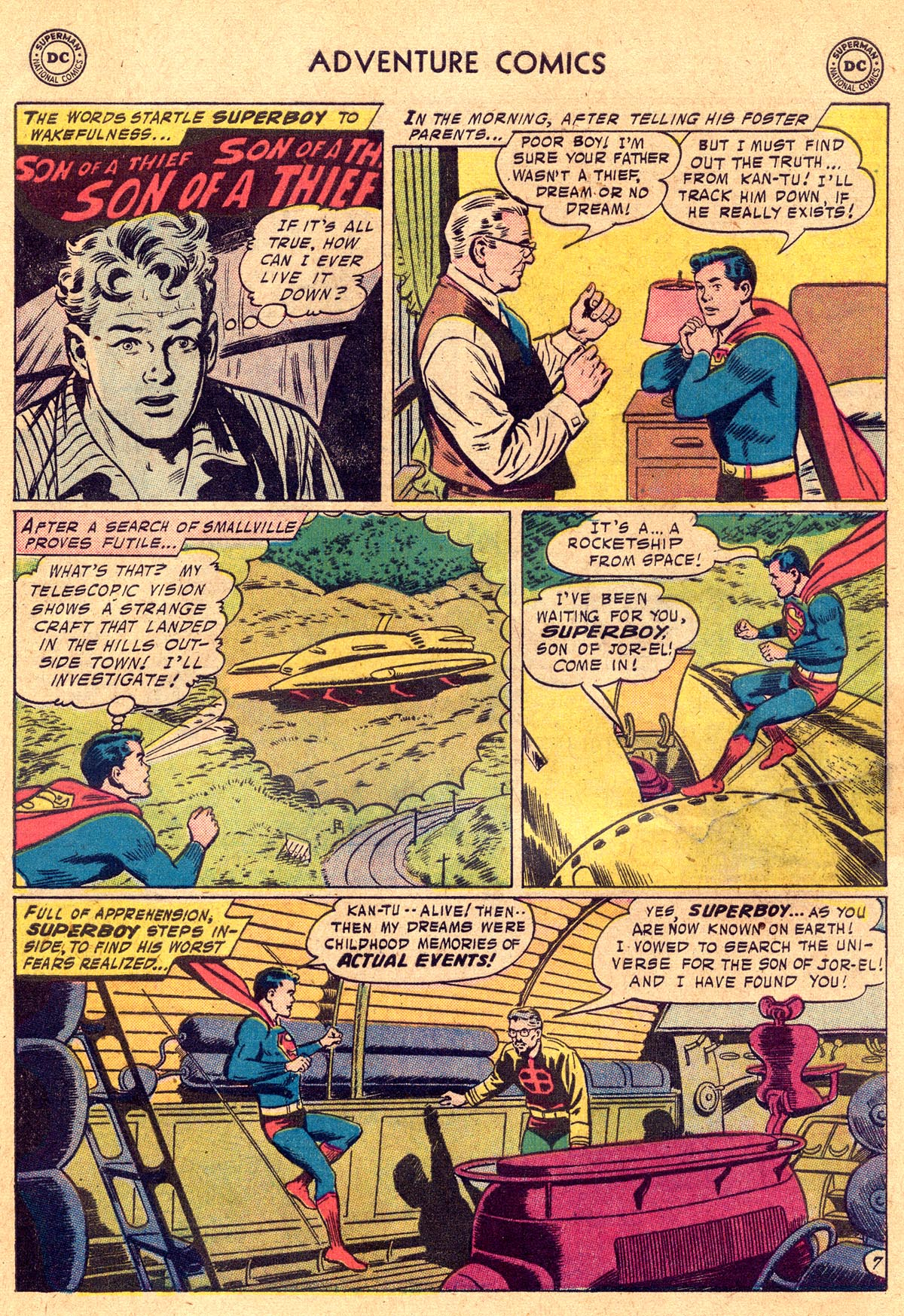 Read online Adventure Comics (1938) comic -  Issue #238 - 9