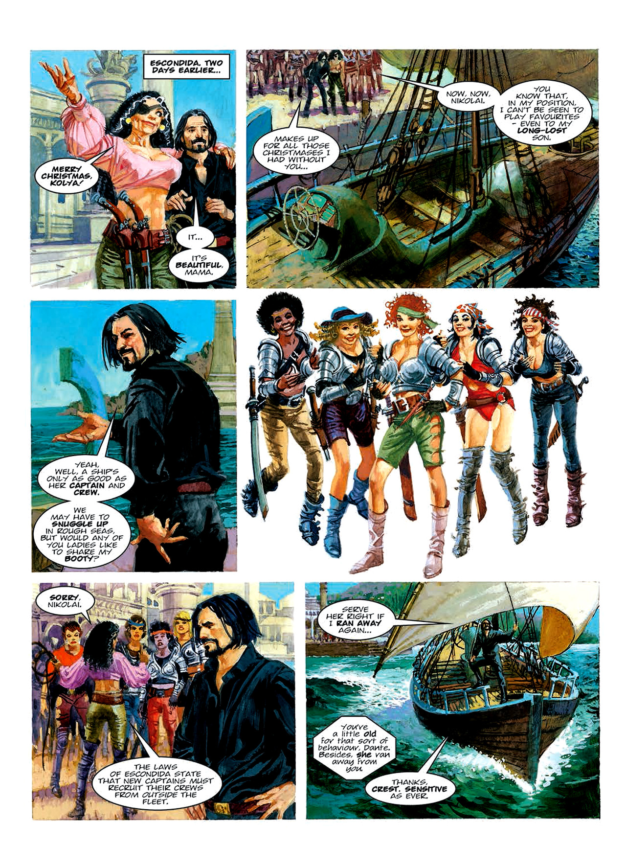 Read online Nikolai Dante comic -  Issue # TPB 6 - 136