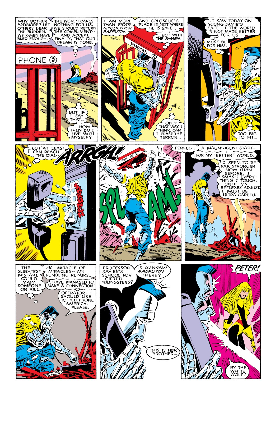 Read online X-Men Milestones: Fall of the Mutants comic -  Issue # TPB (Part 1) - 14