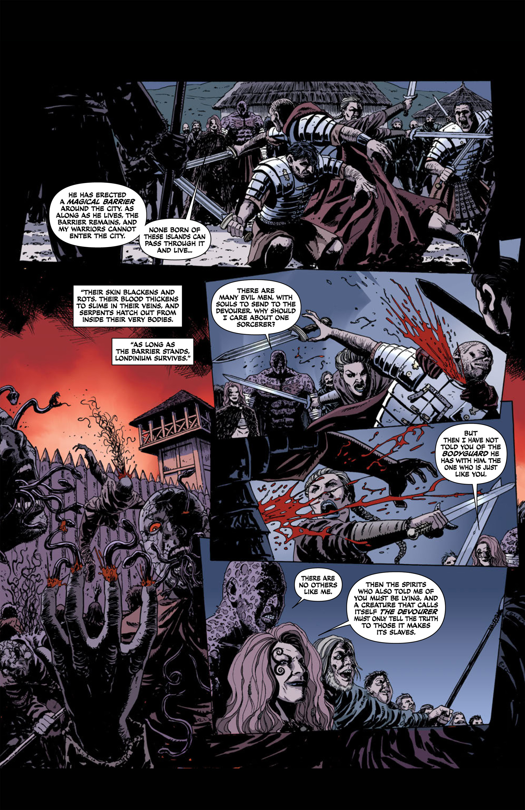 Read online Aquila comic -  Issue #1 - 22
