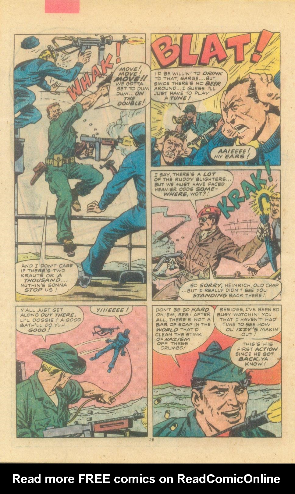 Read online Sgt. Fury comic -  Issue #155 - 28