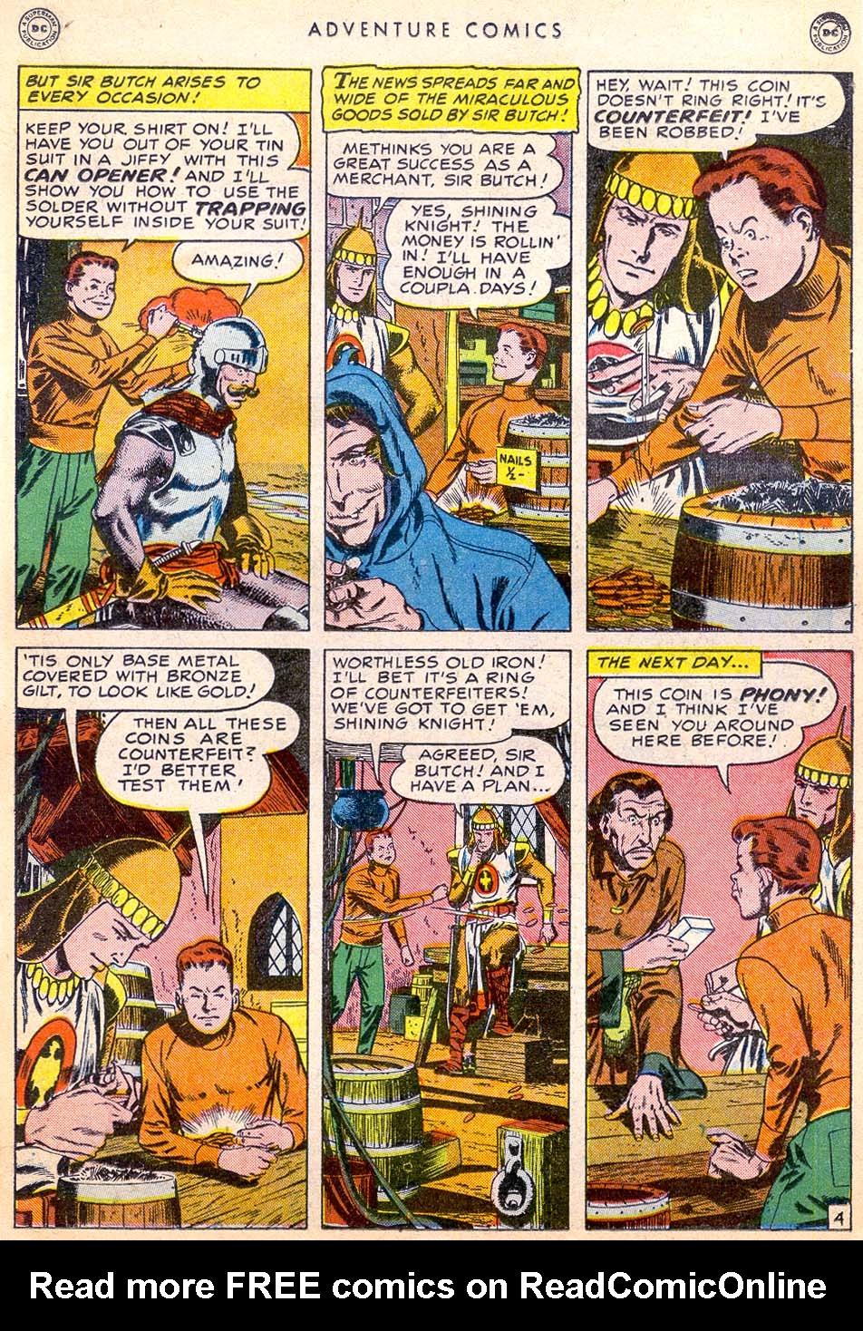 Read online Adventure Comics (1938) comic -  Issue #144 - 24