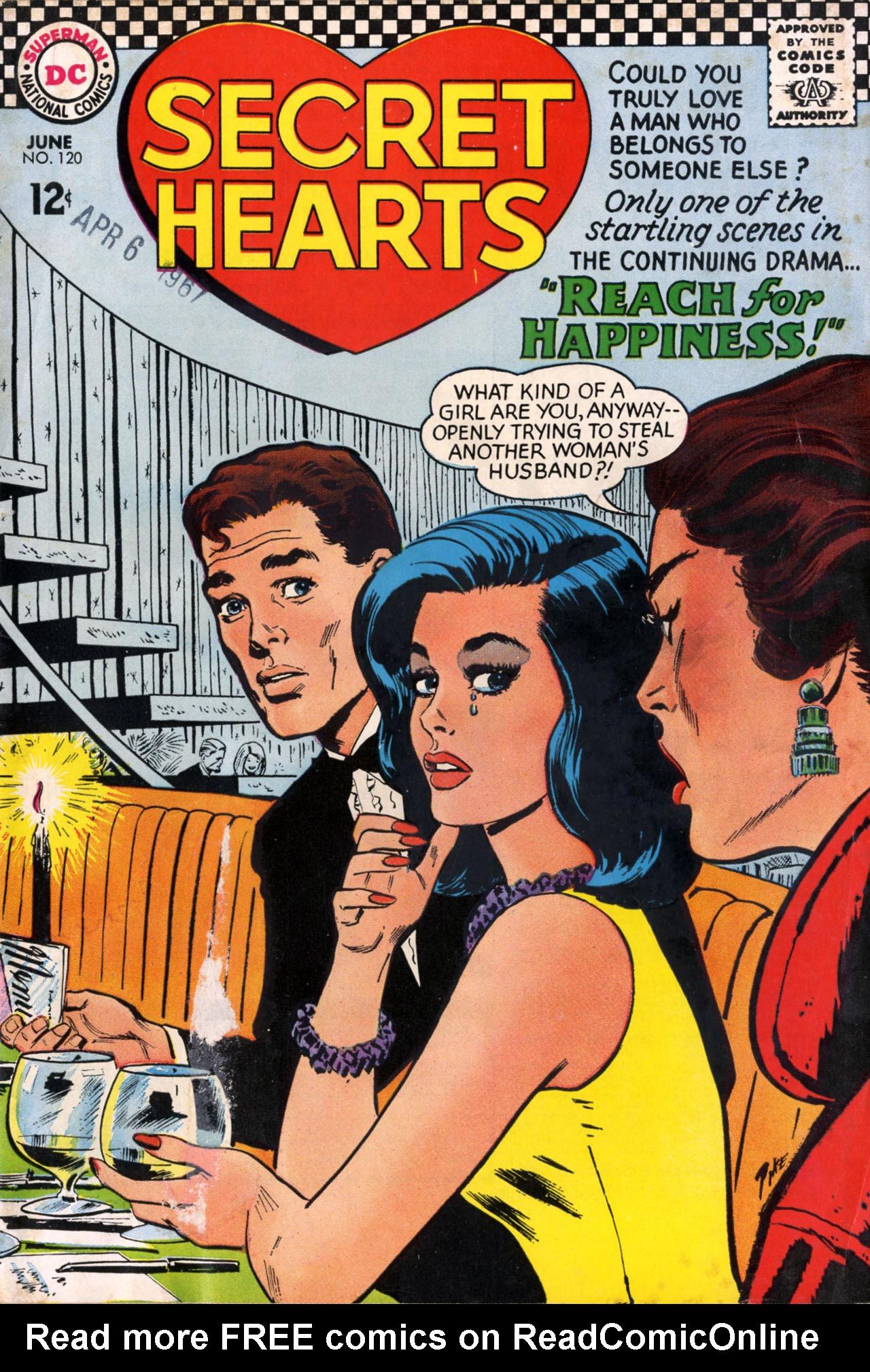 Read online Secret Hearts comic -  Issue #120 - 1