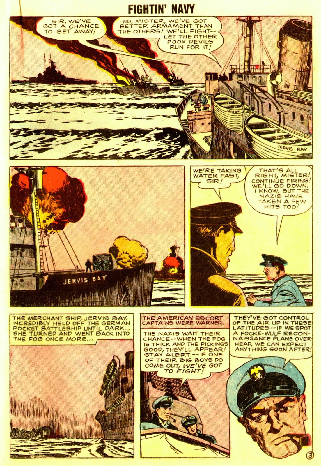 Read online Fightin' Navy comic -  Issue #83 - 35