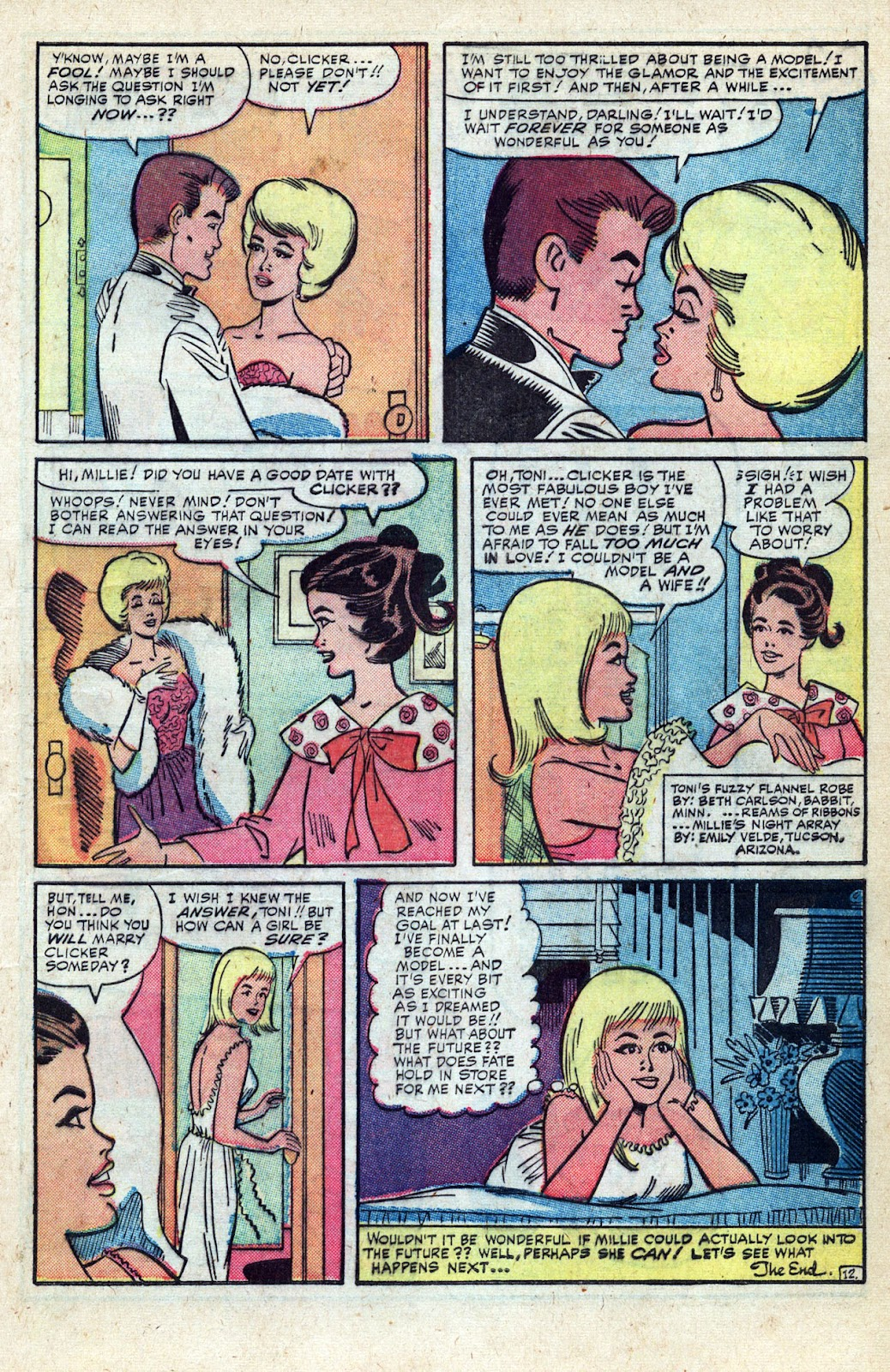 Millie the Model issue Annual 3 - Page 35