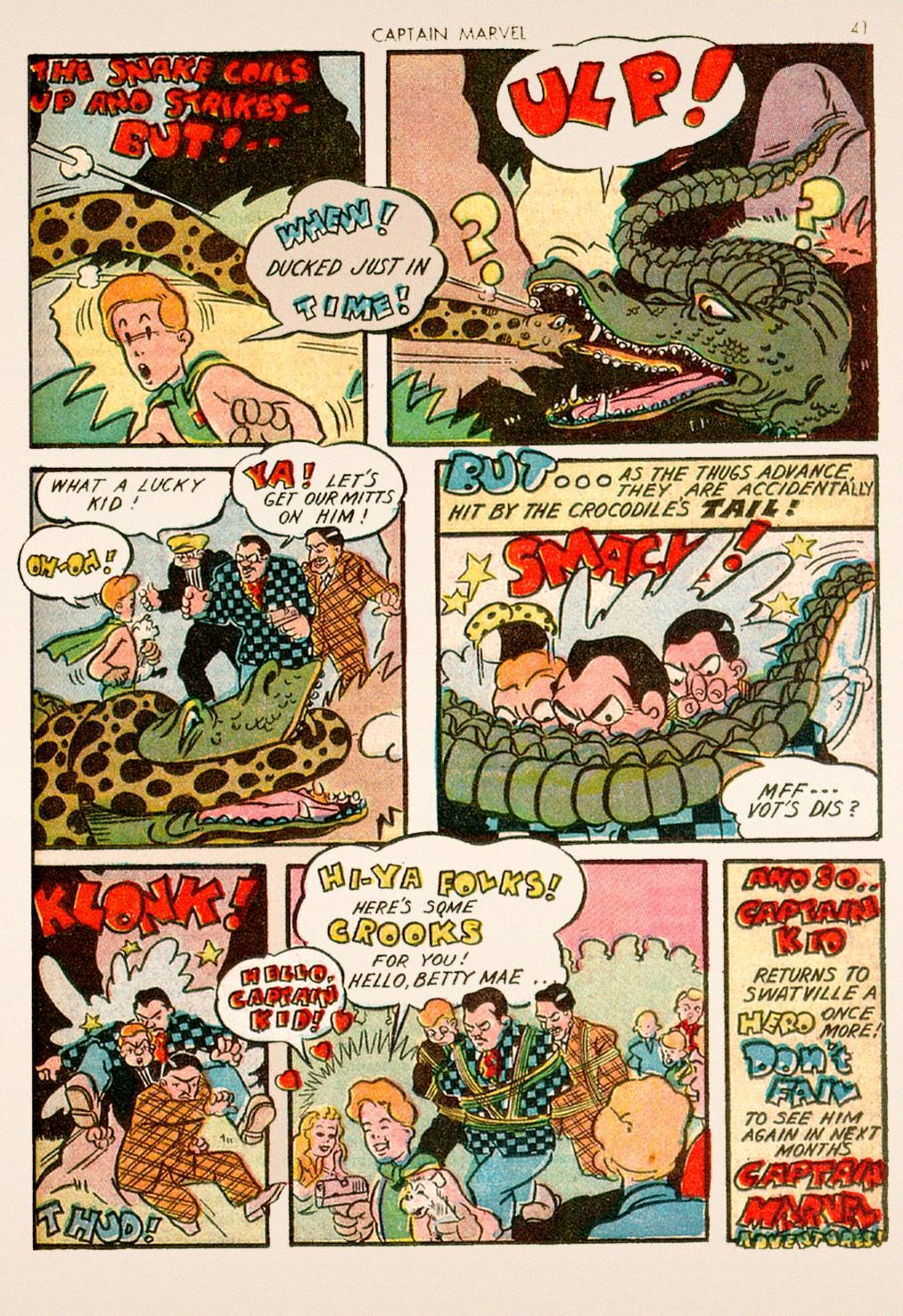 Captain Marvel Adventures issue 10 - Page 41