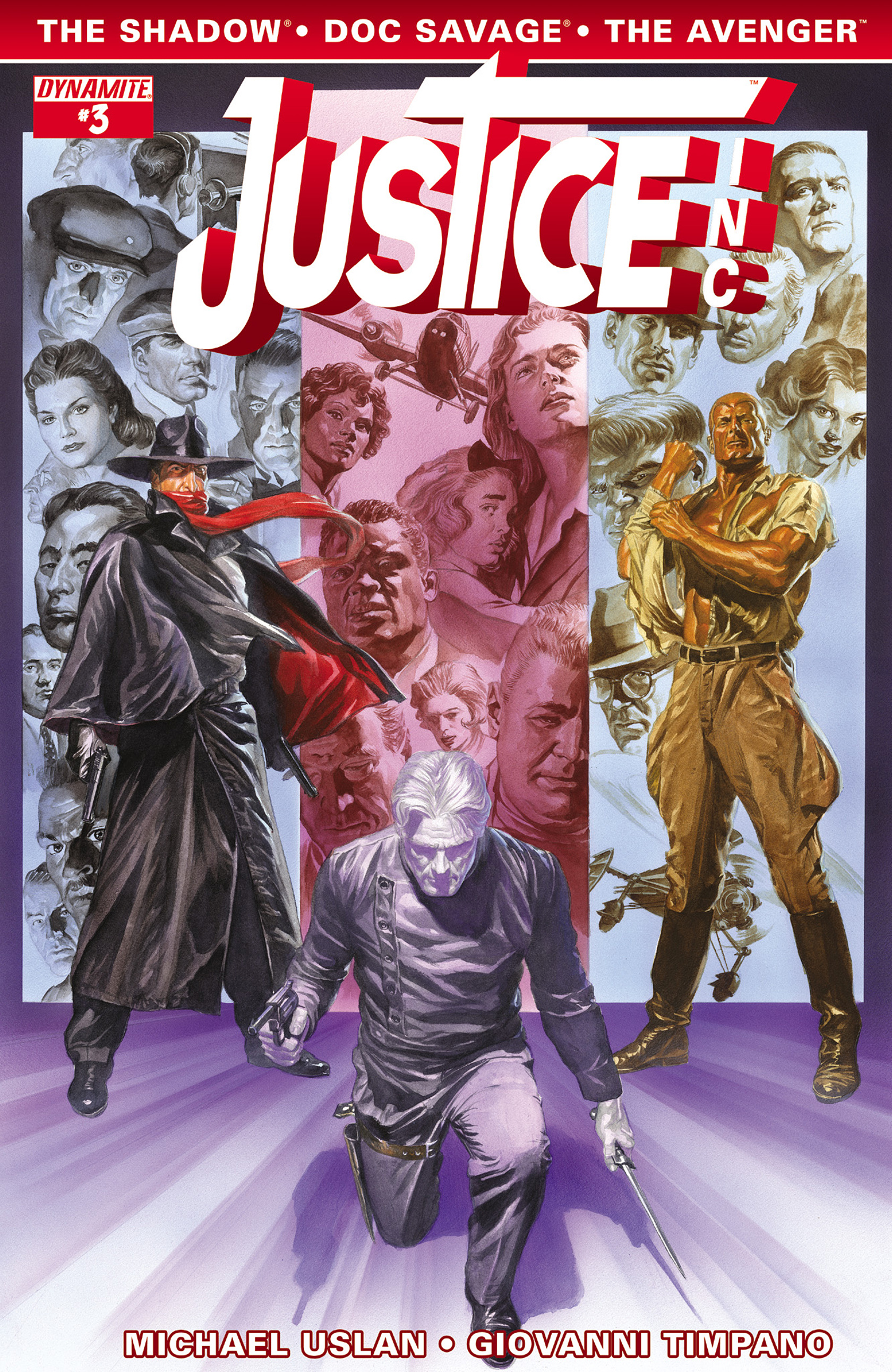 Read online Justice, Inc. comic -  Issue #3 - 1