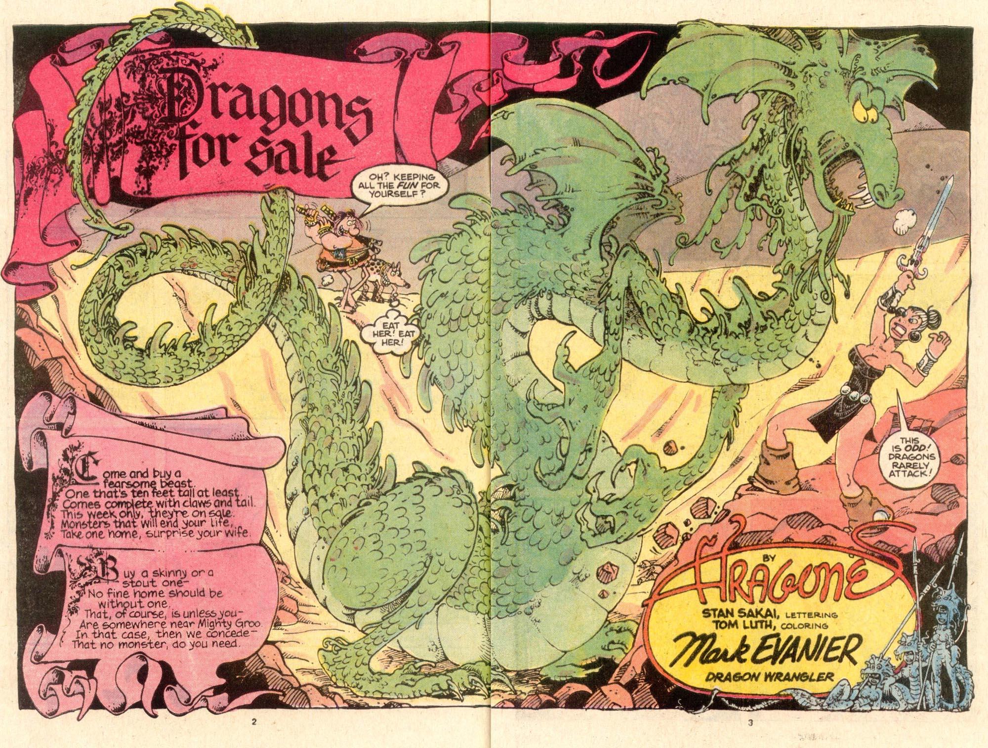 Read online Sergio Aragonés Groo the Wanderer comic -  Issue #53 - 3