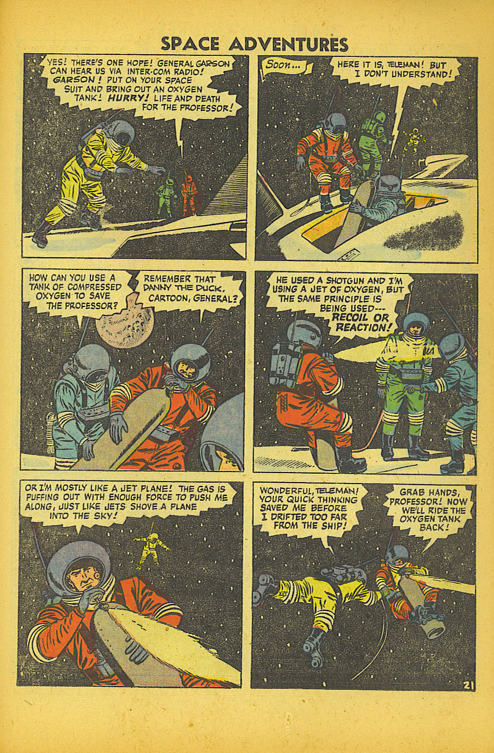 Space Adventures (1952) issue 20 - Page 23