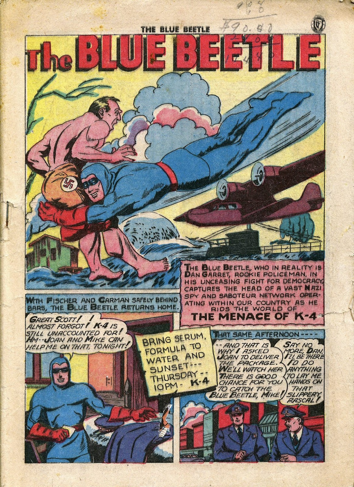 The Blue Beetle issue 34 - Page 2