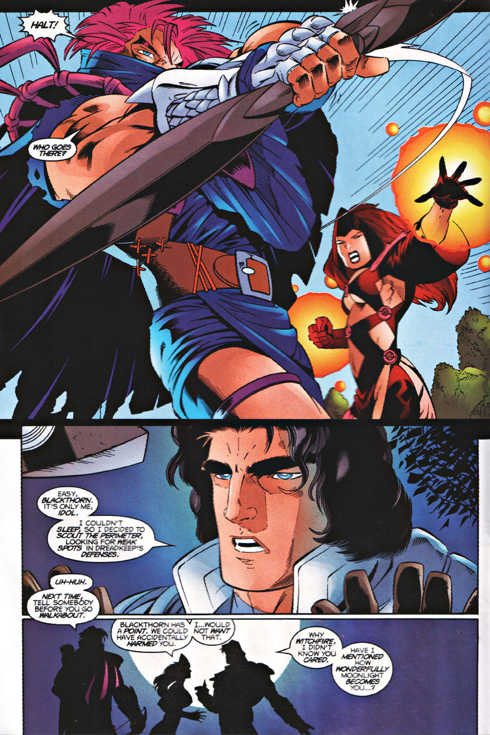 Read online Avataars: Covenant of the Shield comic -  Issue #3 - 3