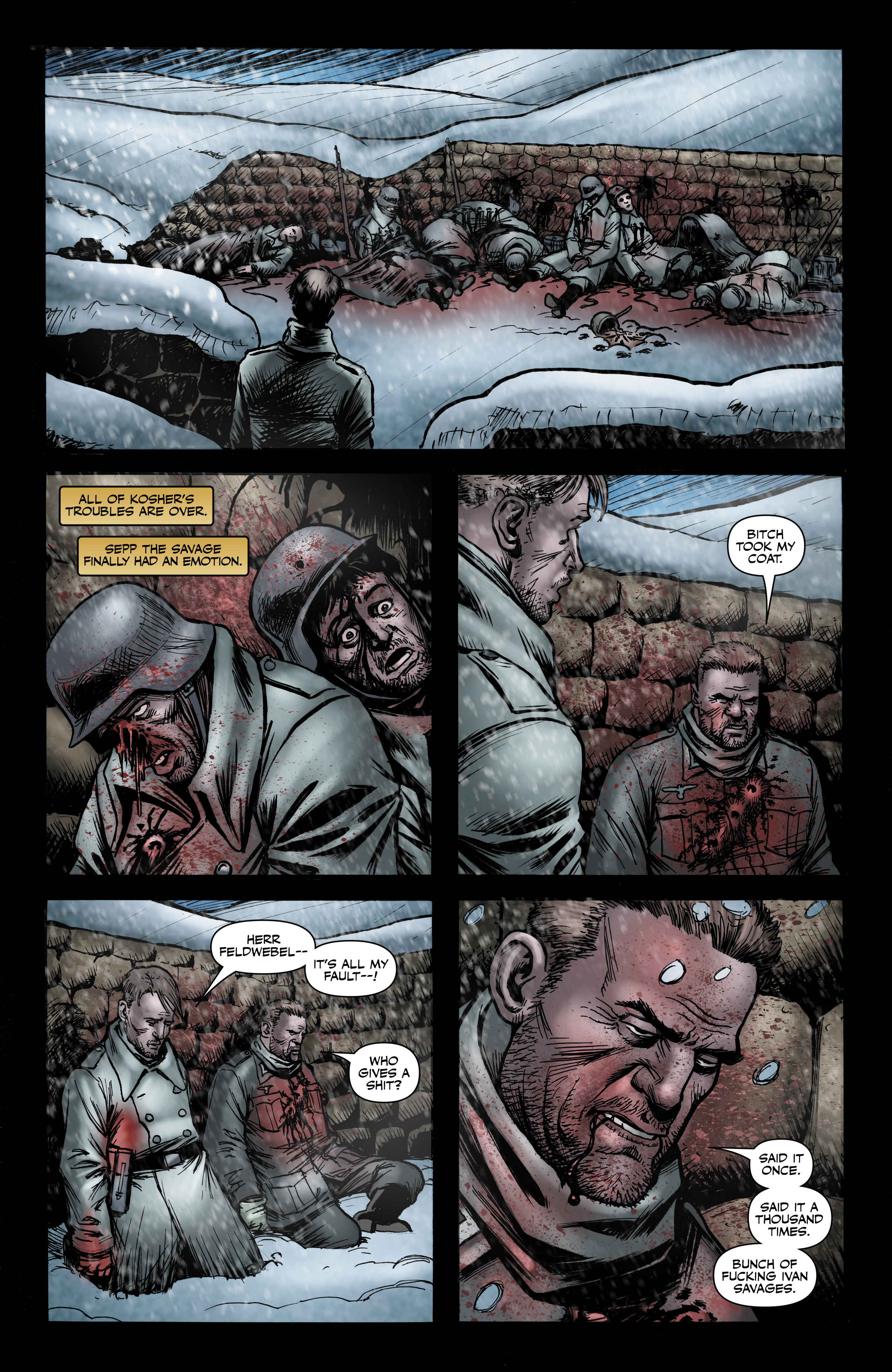 Read online Battlefields: Night Witches comic -  Issue # TPB - 70