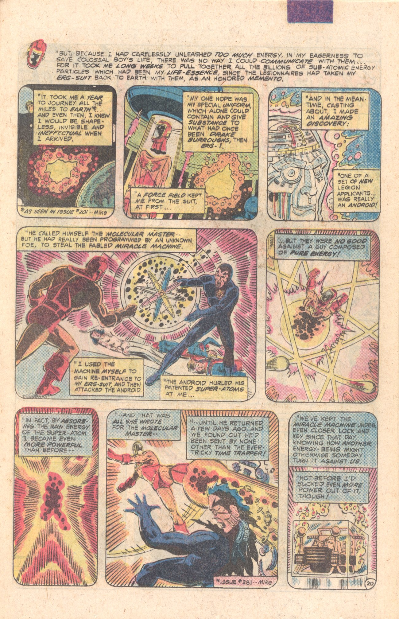 Legion of Super-Heroes (1980) 283 Page 21