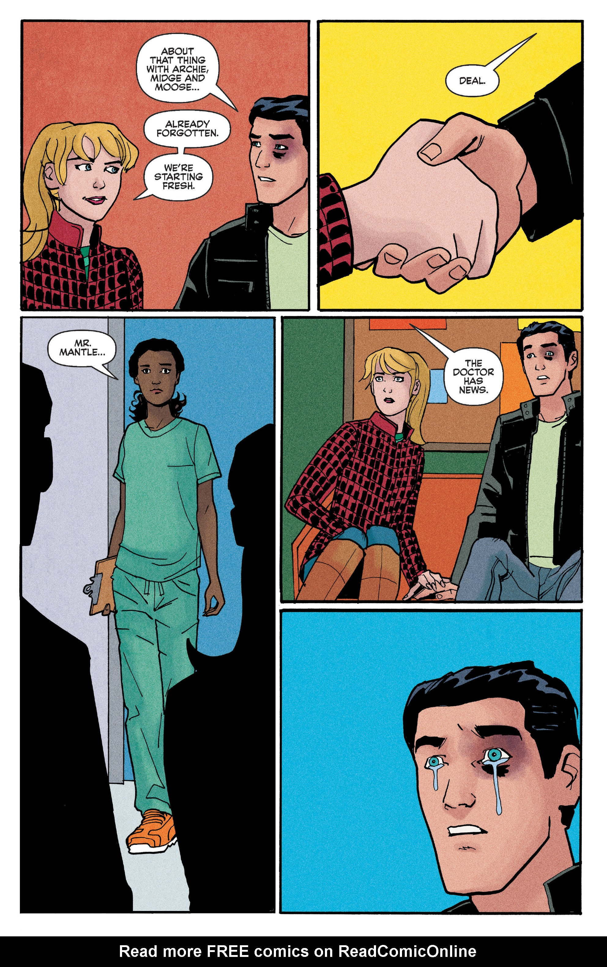 Read online Reggie and Me comic -  Issue #5 - 17