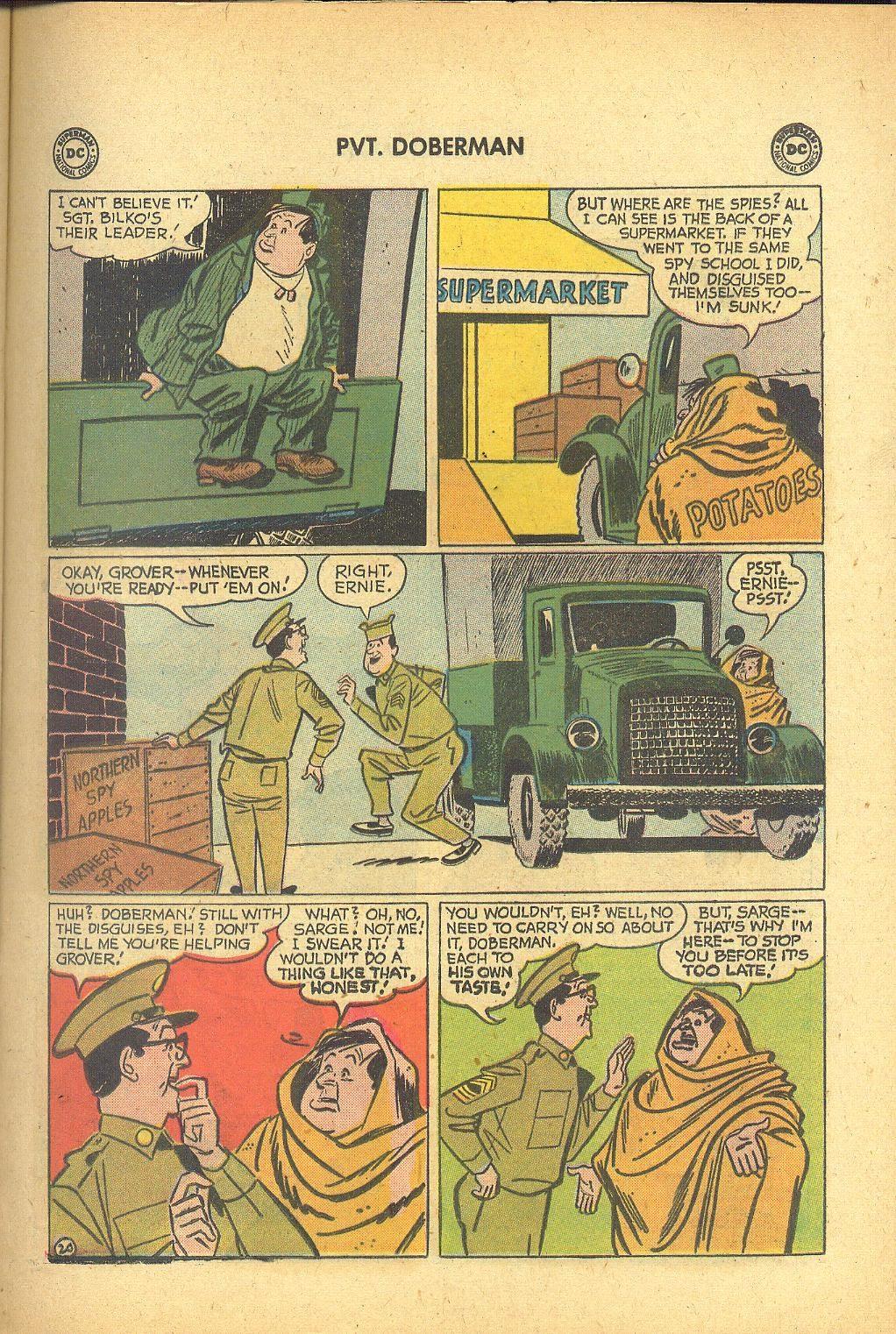 Sgt. Bilko's Pvt. Doberman issue 1 - Page 25